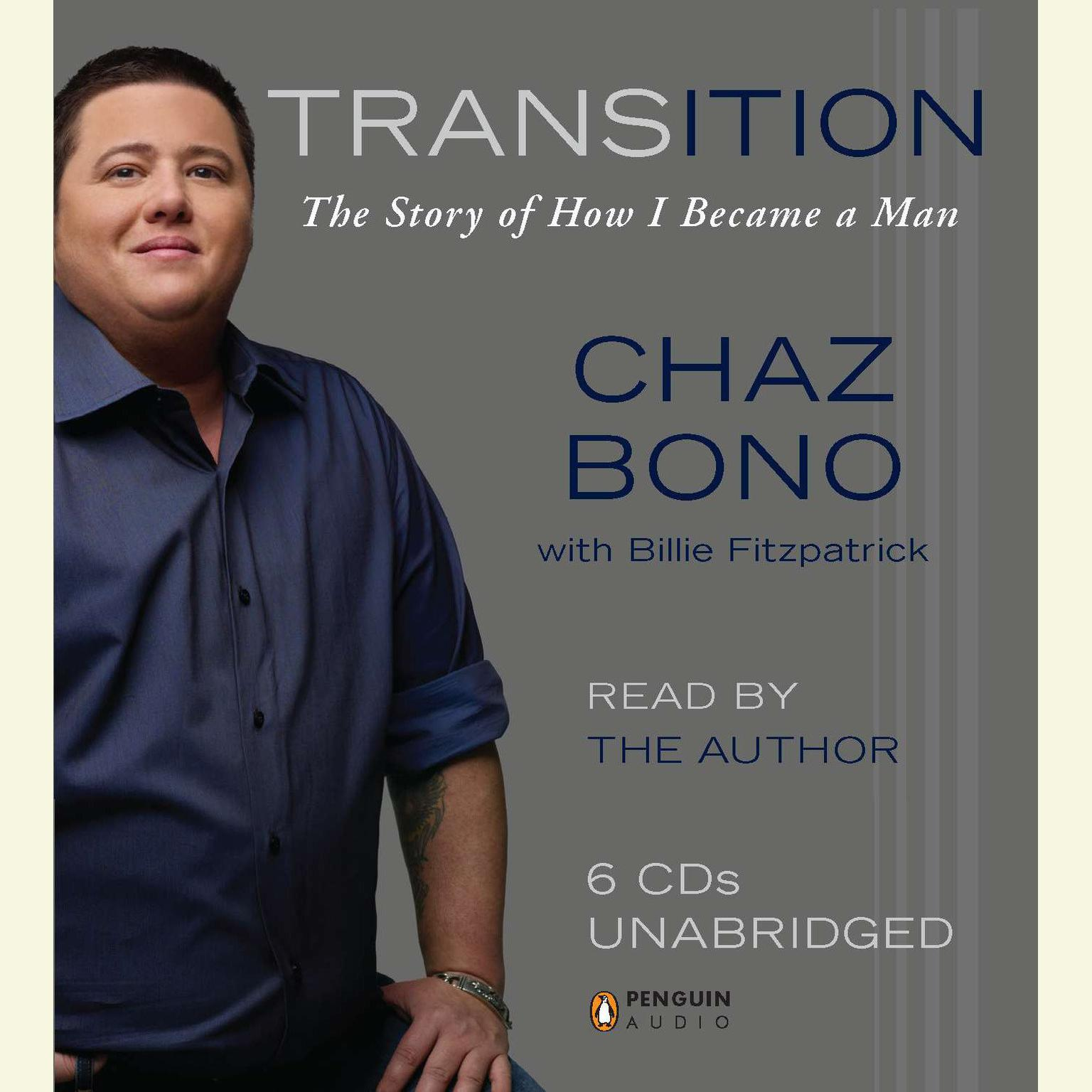 Printable Transition: The Story of How I Became a Man Audiobook Cover Art