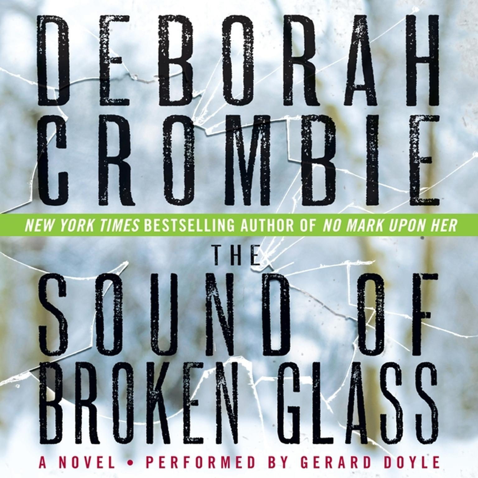 Printable The Sound of Broken Glass Audiobook Cover Art