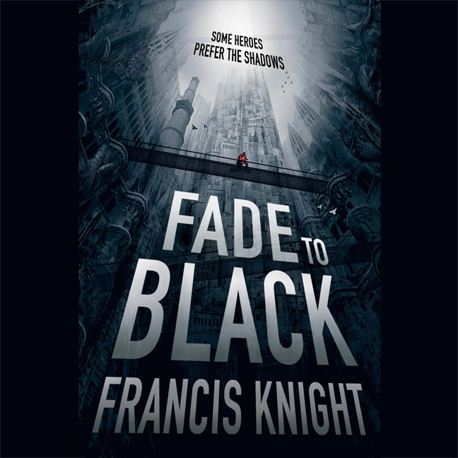 Printable Fade to Black Audiobook Cover Art