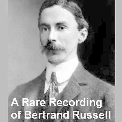 Printable A Rare Recording of Bertrand Russell Audiobook Cover Art