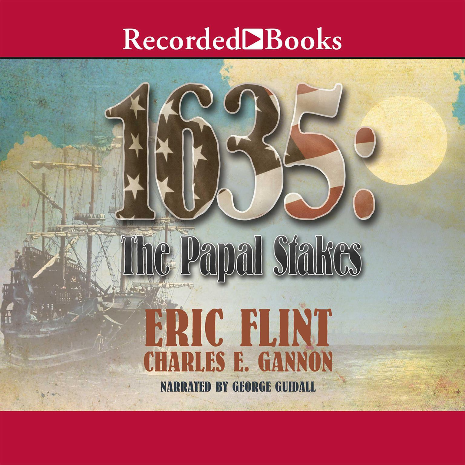 Printable 1635: The Papal Stakes Audiobook Cover Art