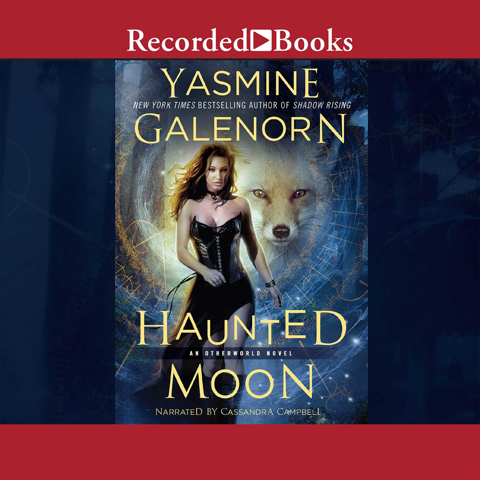 Printable Haunted Moon Audiobook Cover Art