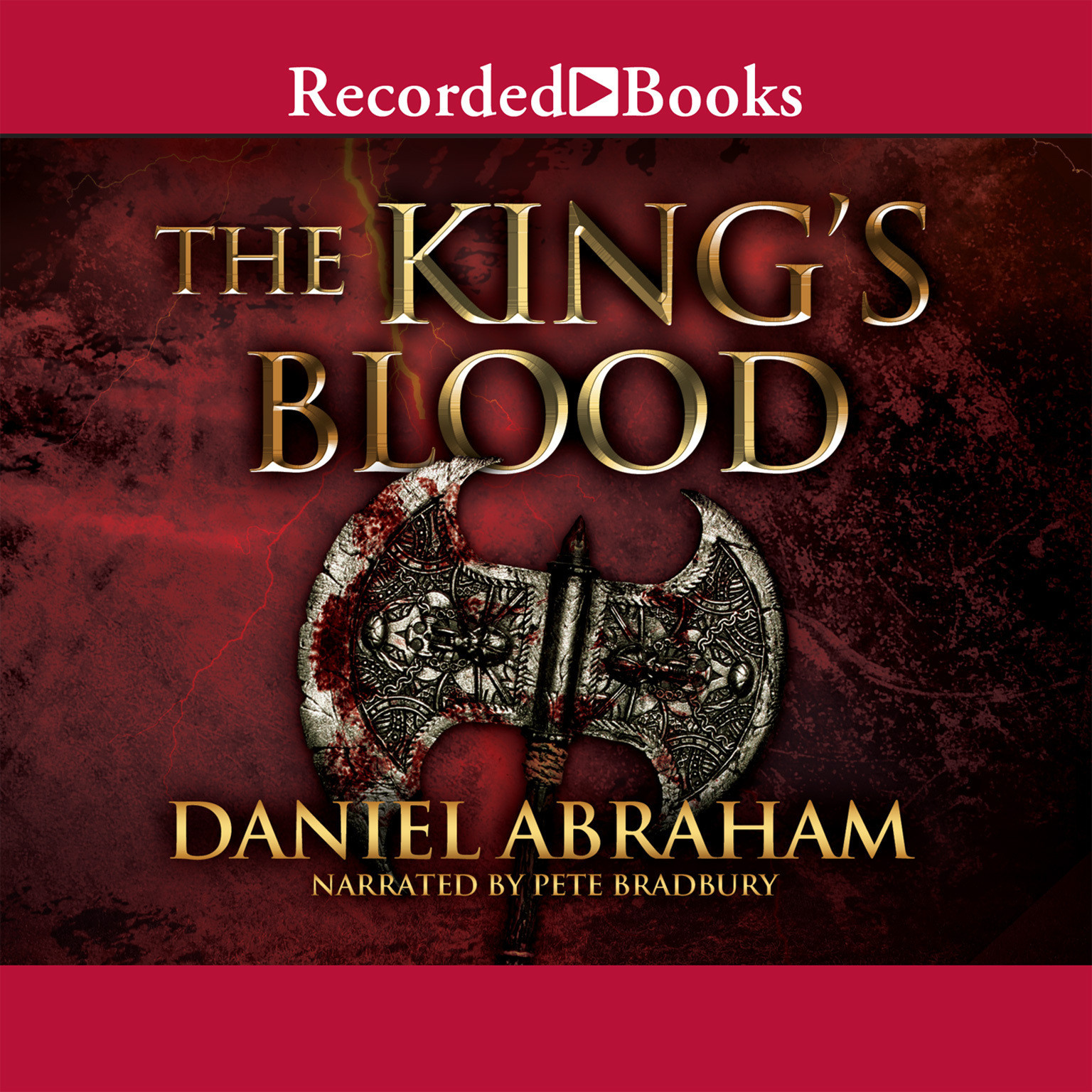 Printable The King's Blood Audiobook Cover Art