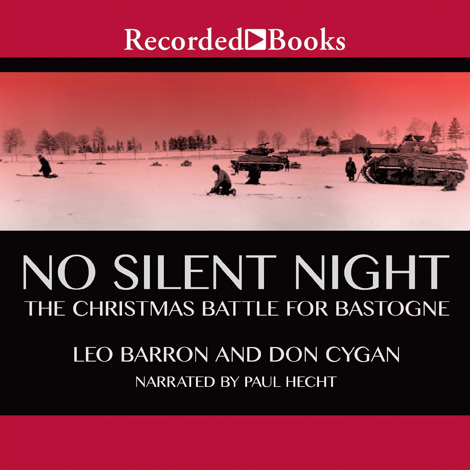 Printable No Silent Night: The Christmas Battle for Bastogne Audiobook Cover Art