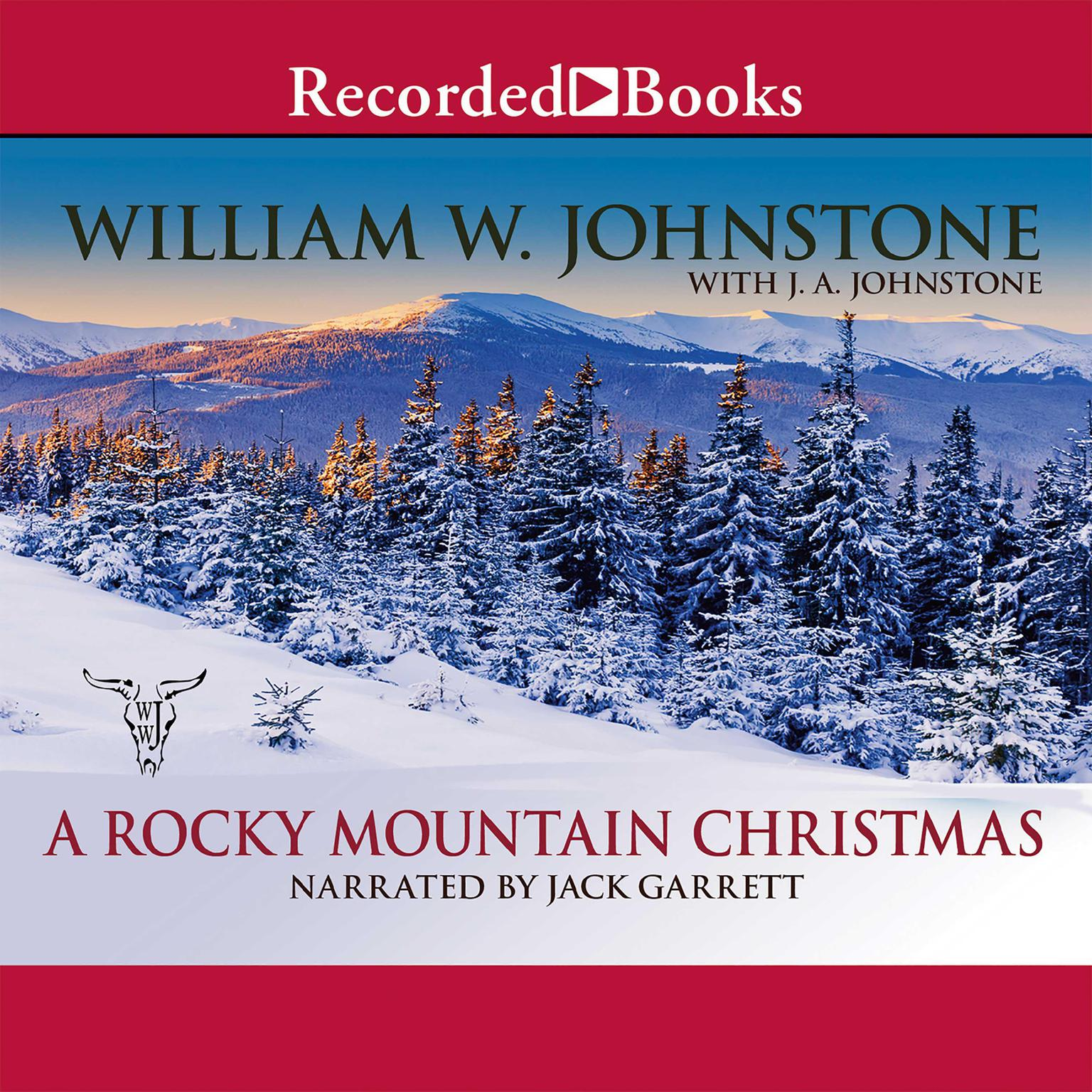 Printable A Rocky Mountain Christmas Audiobook Cover Art