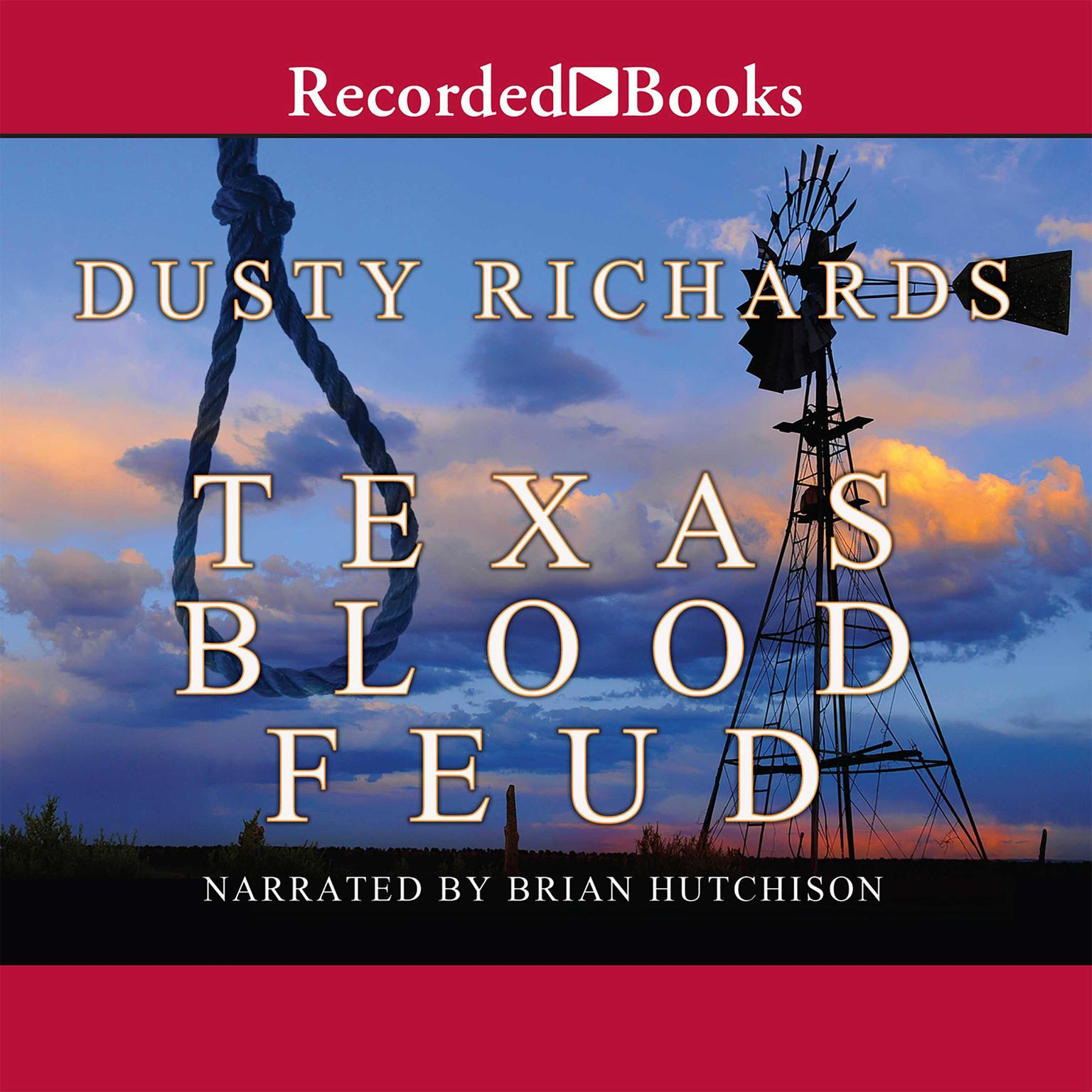 Printable Texas Blood Feud Audiobook Cover Art