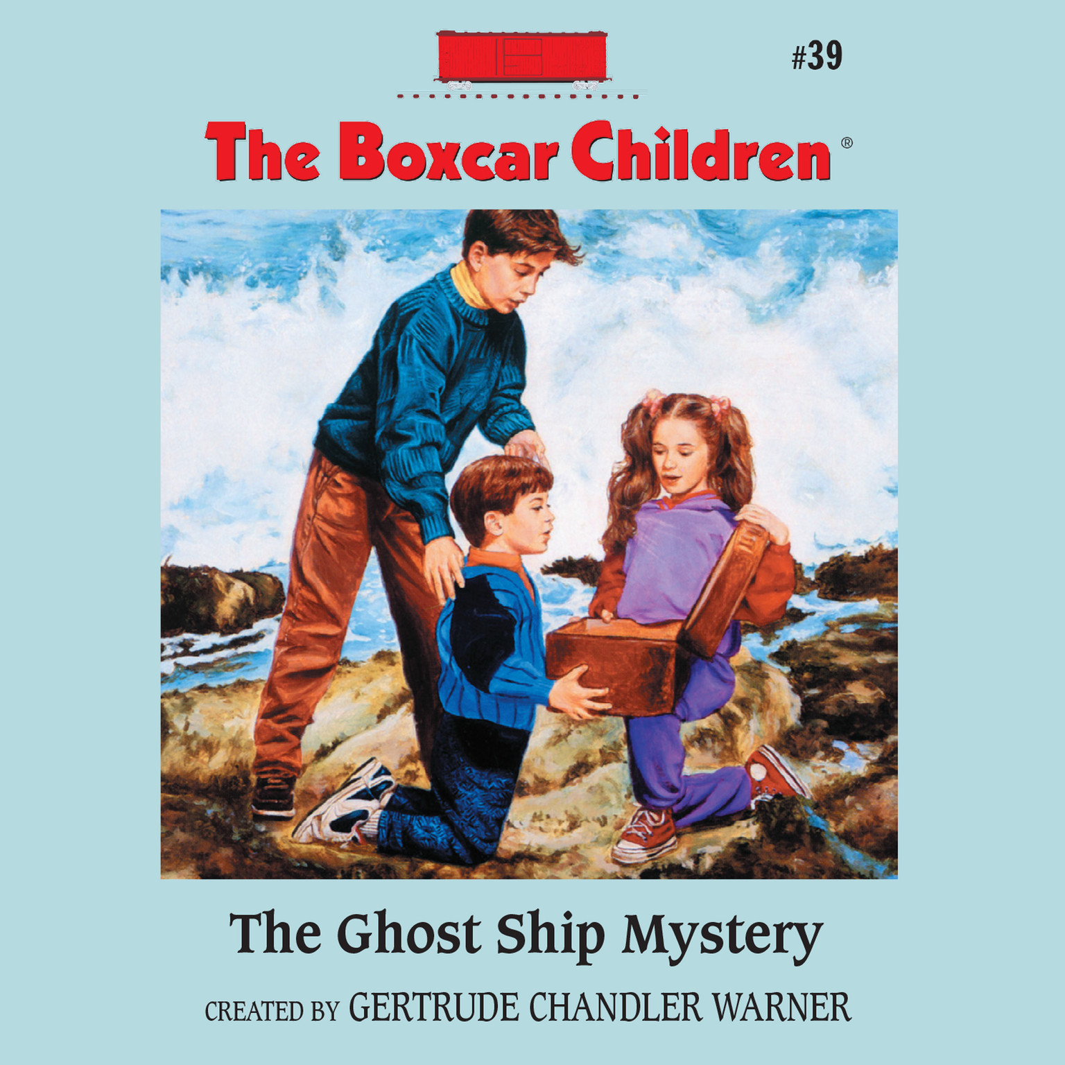 Printable The Ghost Ship Mystery Audiobook Cover Art