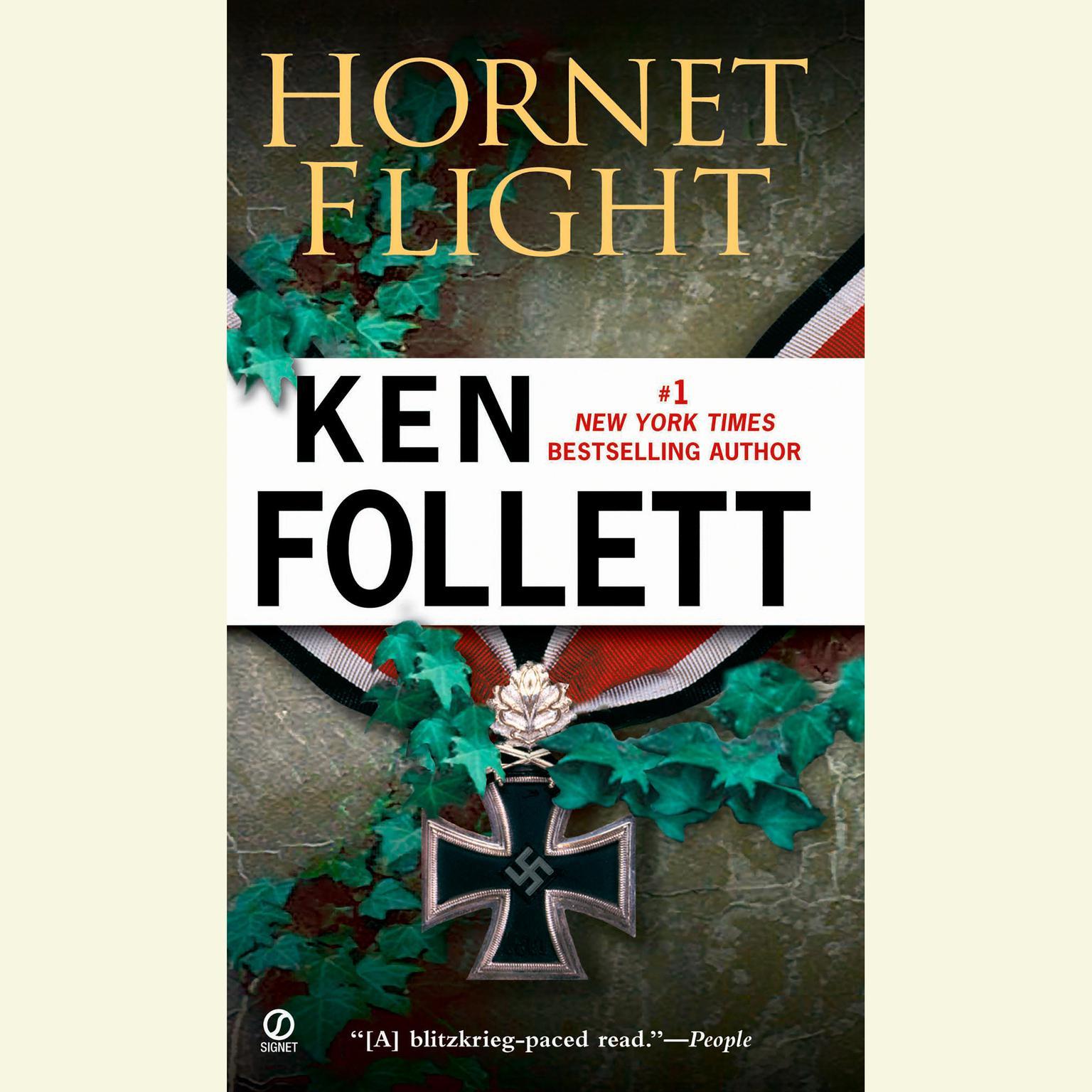 Printable Hornet Flight Audiobook Cover Art