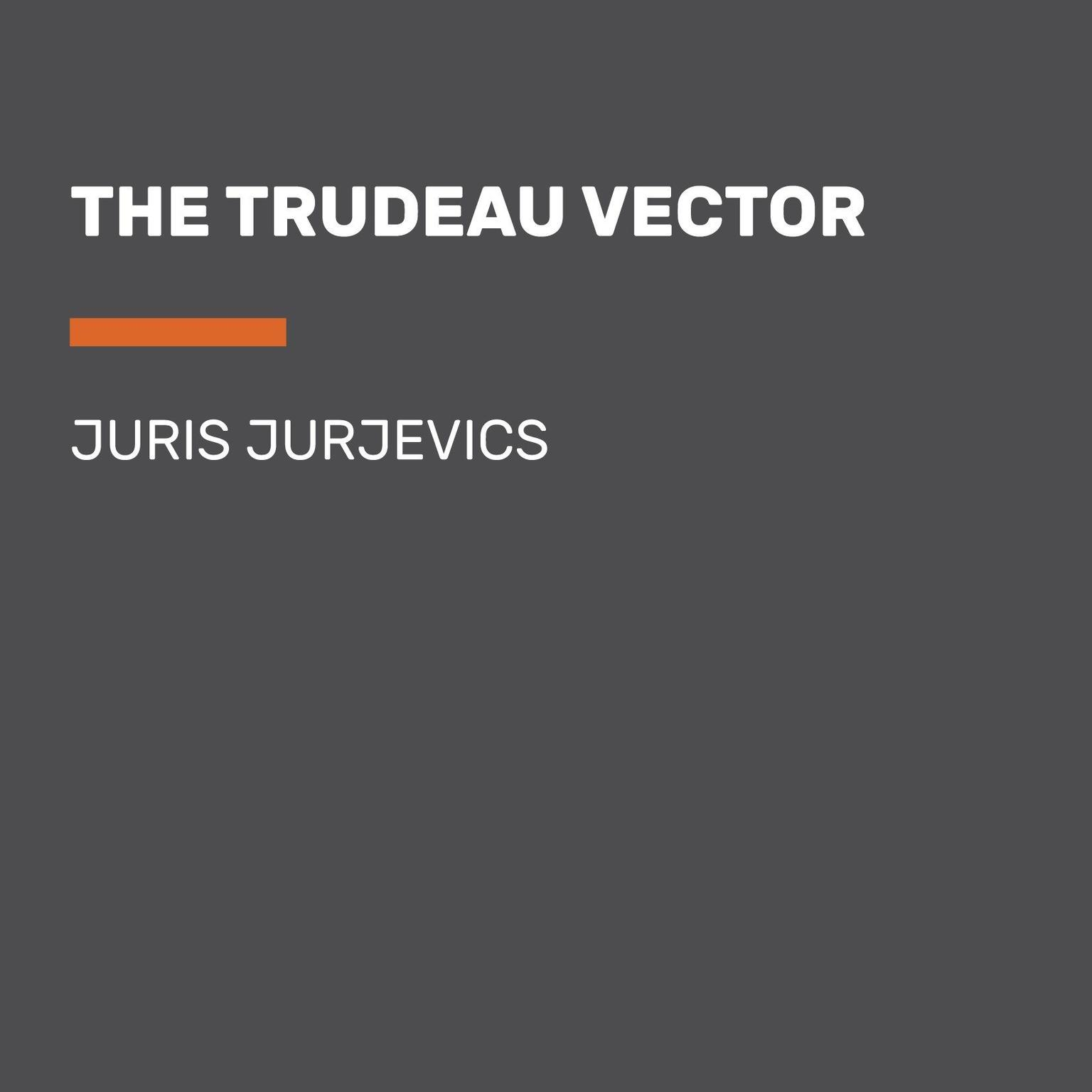 Printable The Trudeau Vector Audiobook Cover Art
