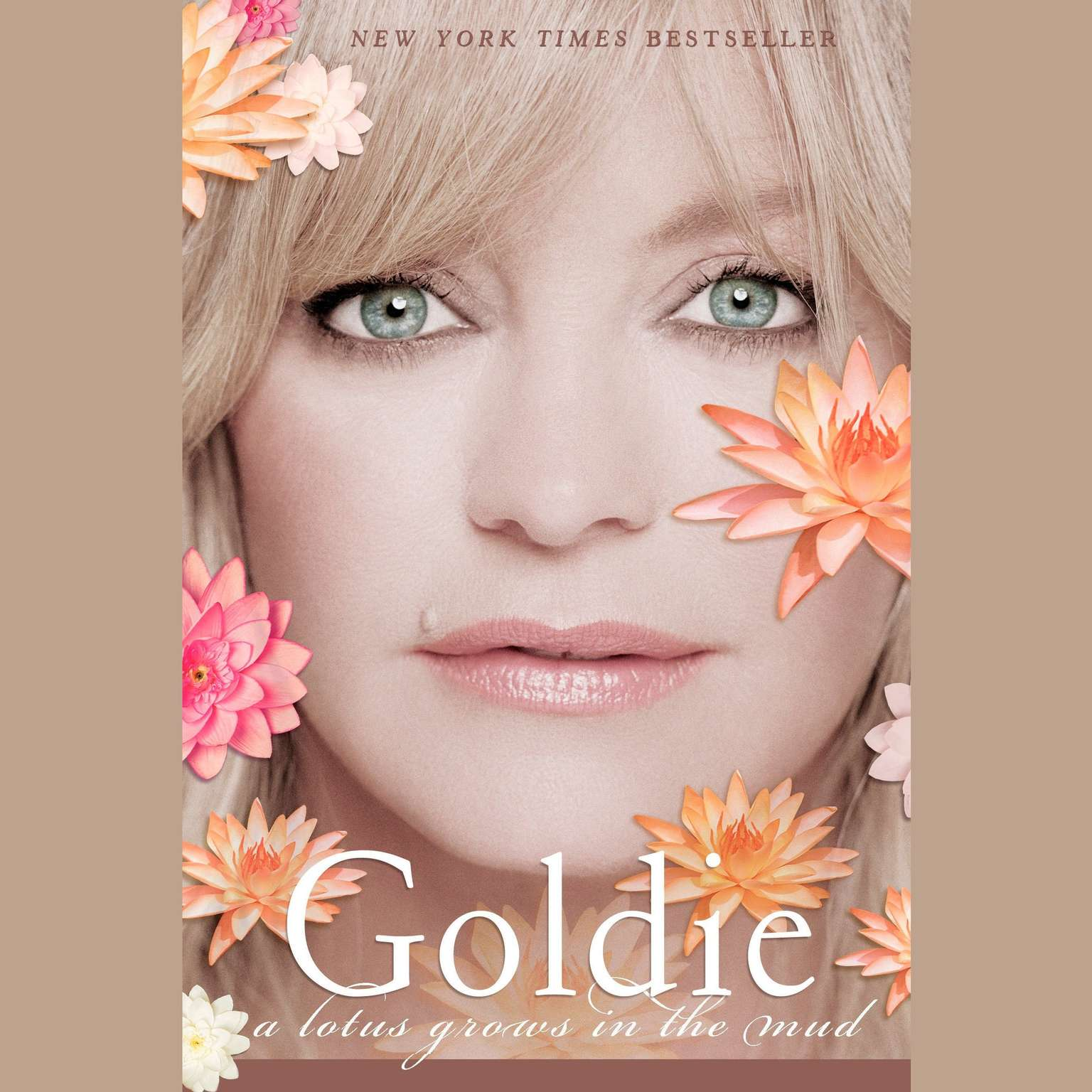Printable Goldie: A Lotus Grows in the Mud Audiobook Cover Art