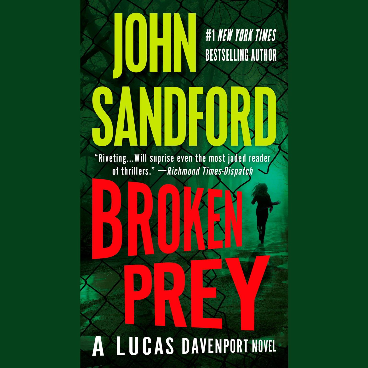 Printable Broken Prey Audiobook Cover Art