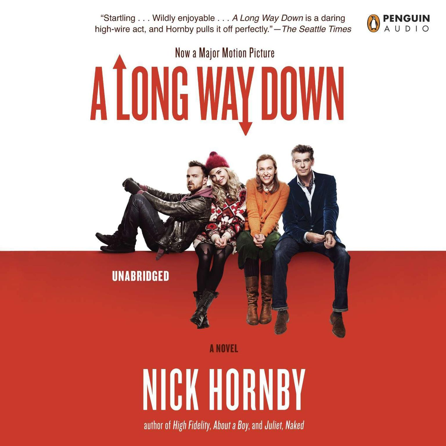 Printable A Long Way Down Audiobook Cover Art