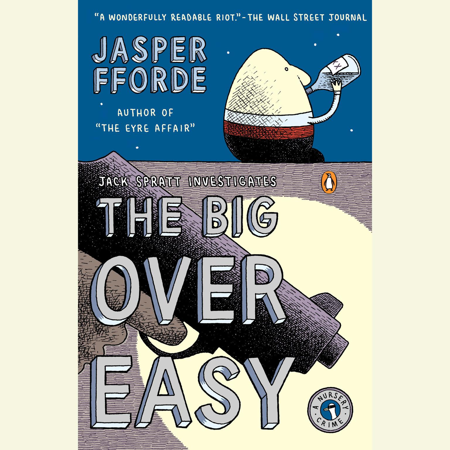 Printable The Big Over Easy: A Nursery Crime Audiobook Cover Art