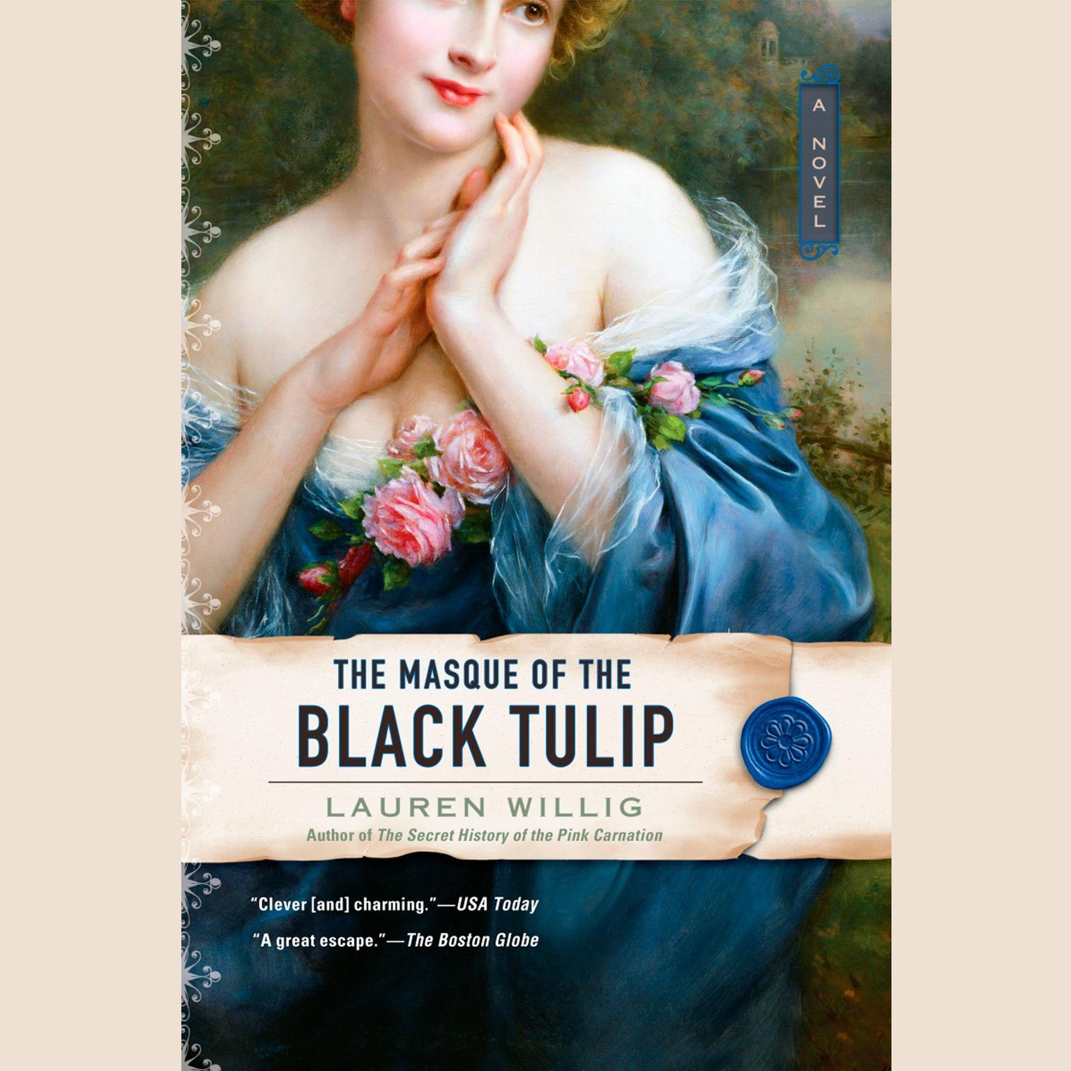 Printable The Masque of the Black Tulip Audiobook Cover Art