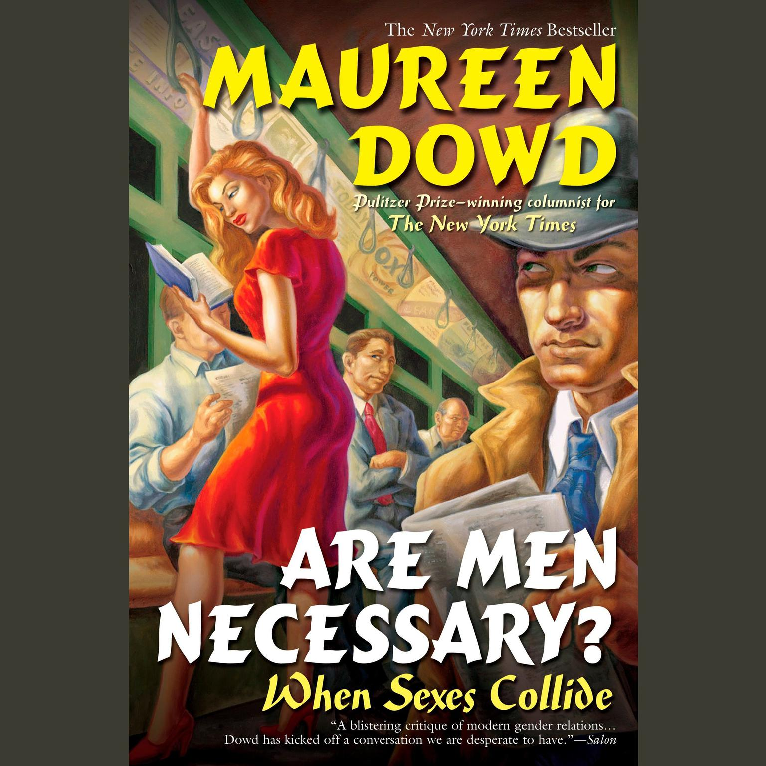 Printable Are Men Necessary?: When Sexes Collide Audiobook Cover Art