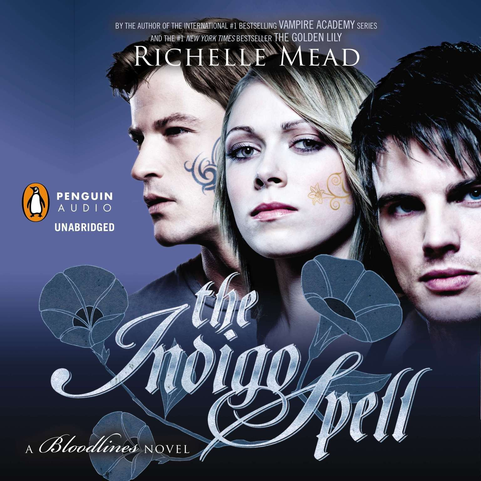 Printable The Indigo Spell: A Bloodlines Novel Audiobook Cover Art