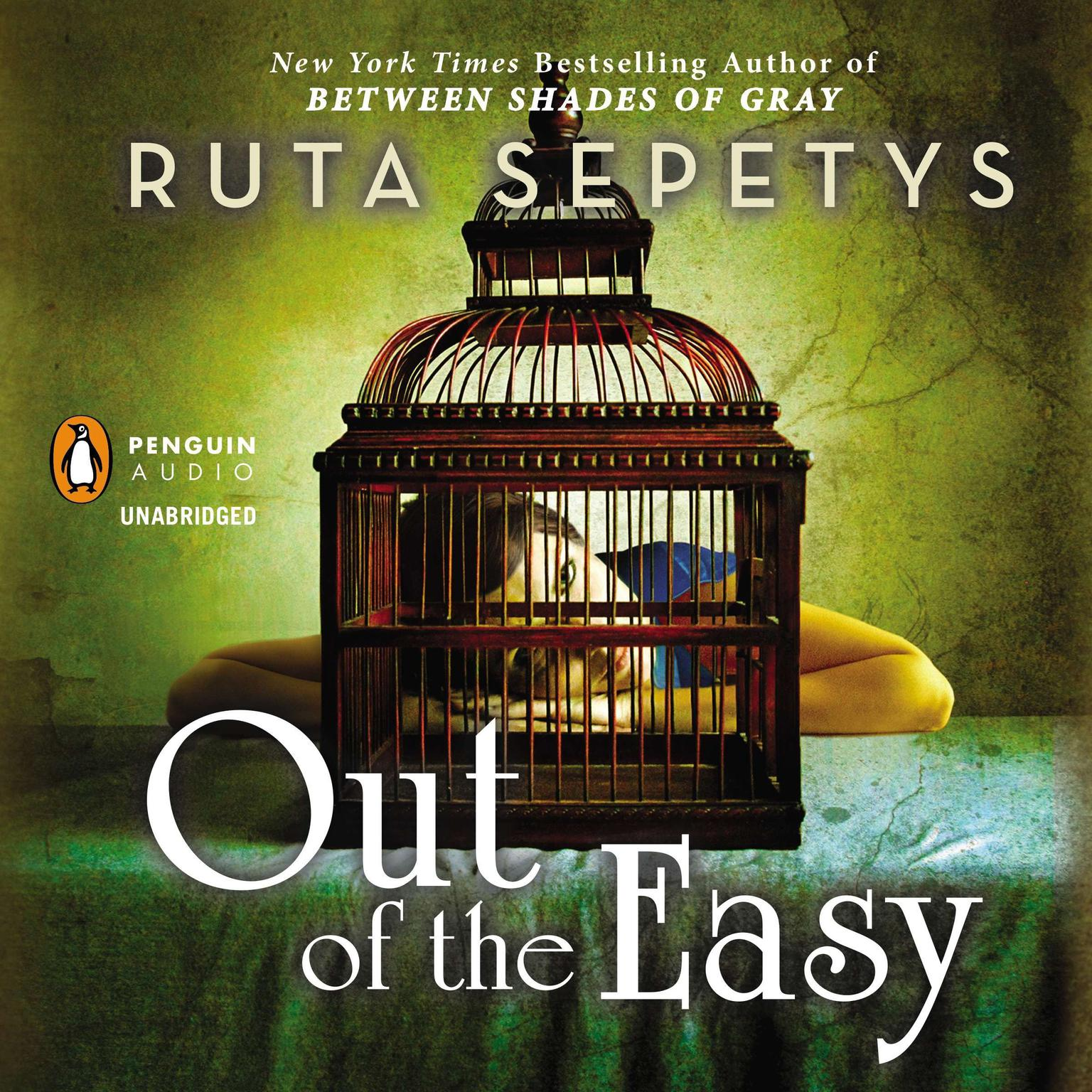 Printable Out of the Easy Audiobook Cover Art