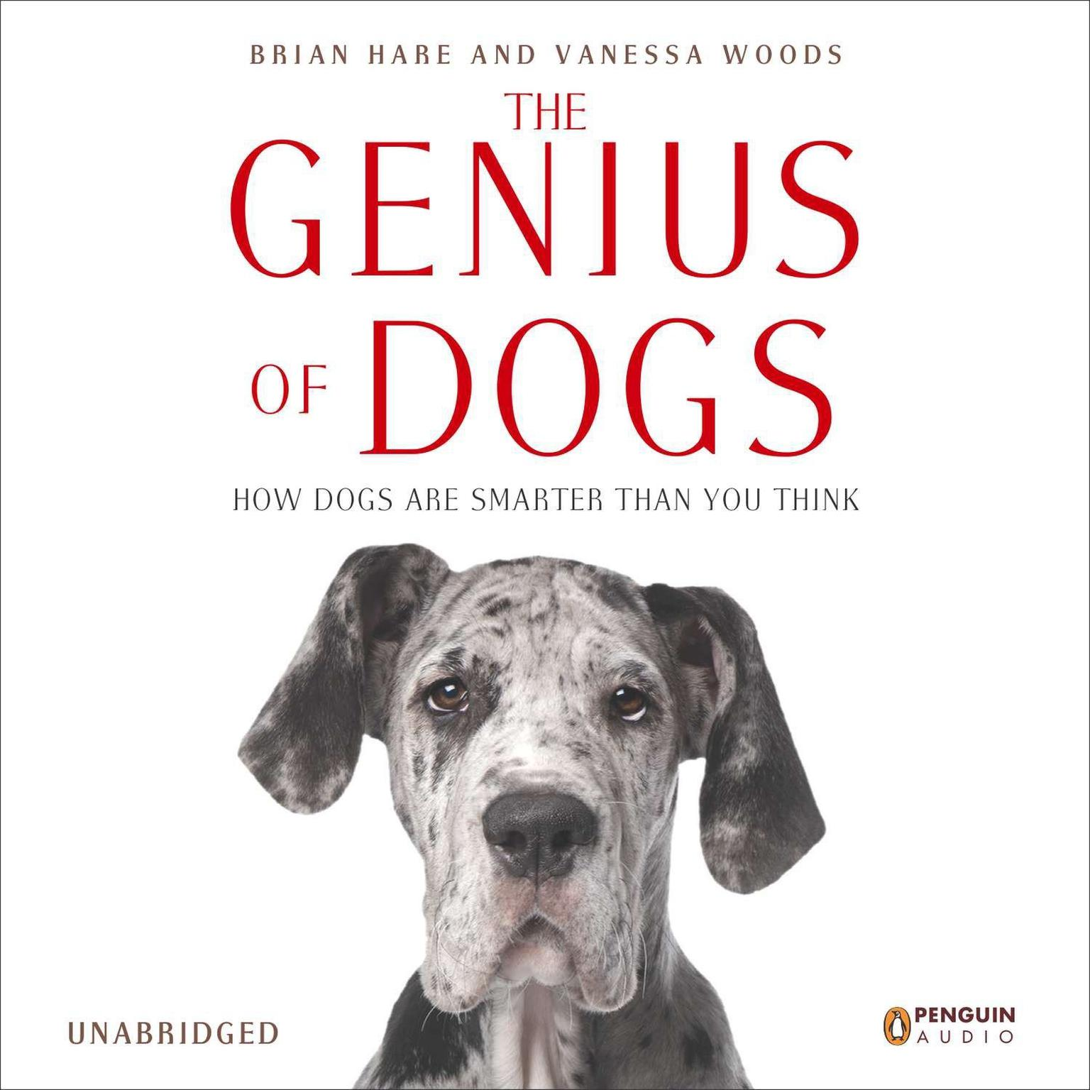 Printable The Genius of Dogs: How Dogs Are Smarter than You Think Audiobook Cover Art