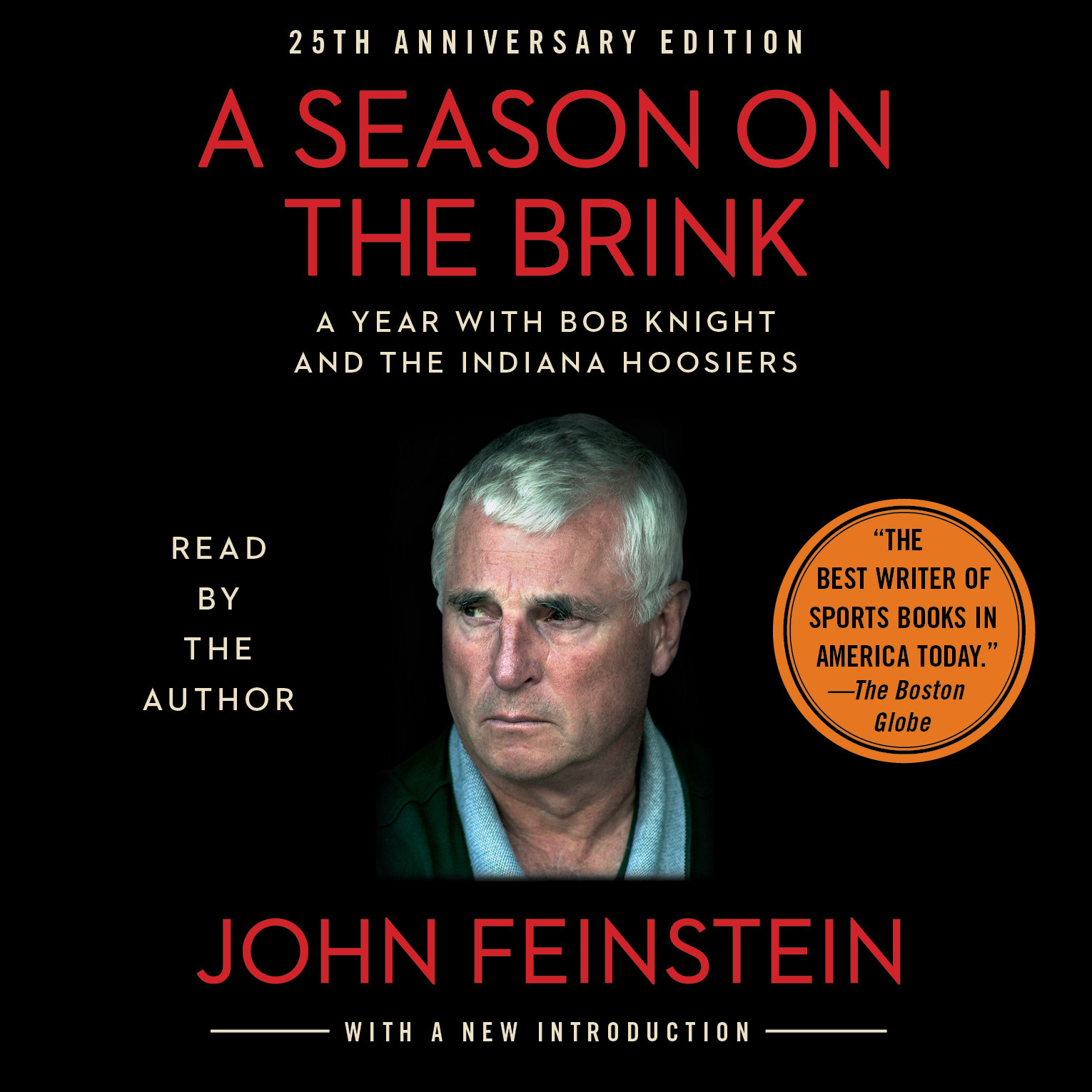 Printable Season on the Brink: A Year with Bob Knight and the Indiana Hoosiers Audiobook Cover Art