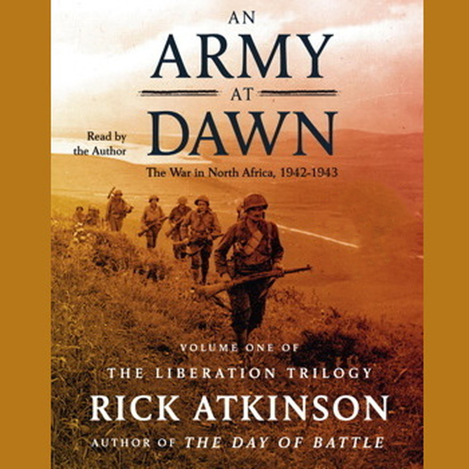 Printable An Army at Dawn: The War in North Africa 1942–1943 Audiobook Cover Art
