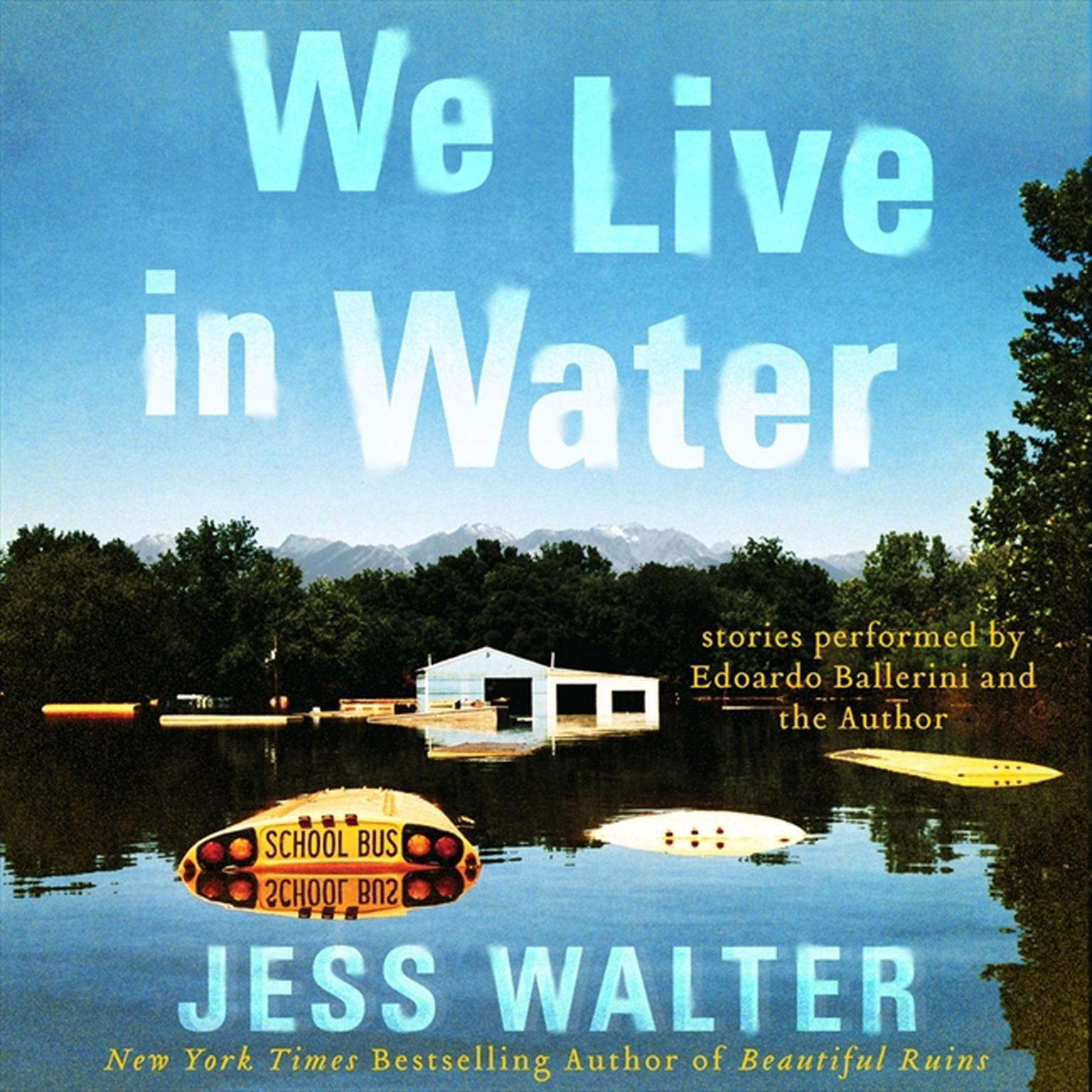 Printable We Live in Water Audiobook Cover Art