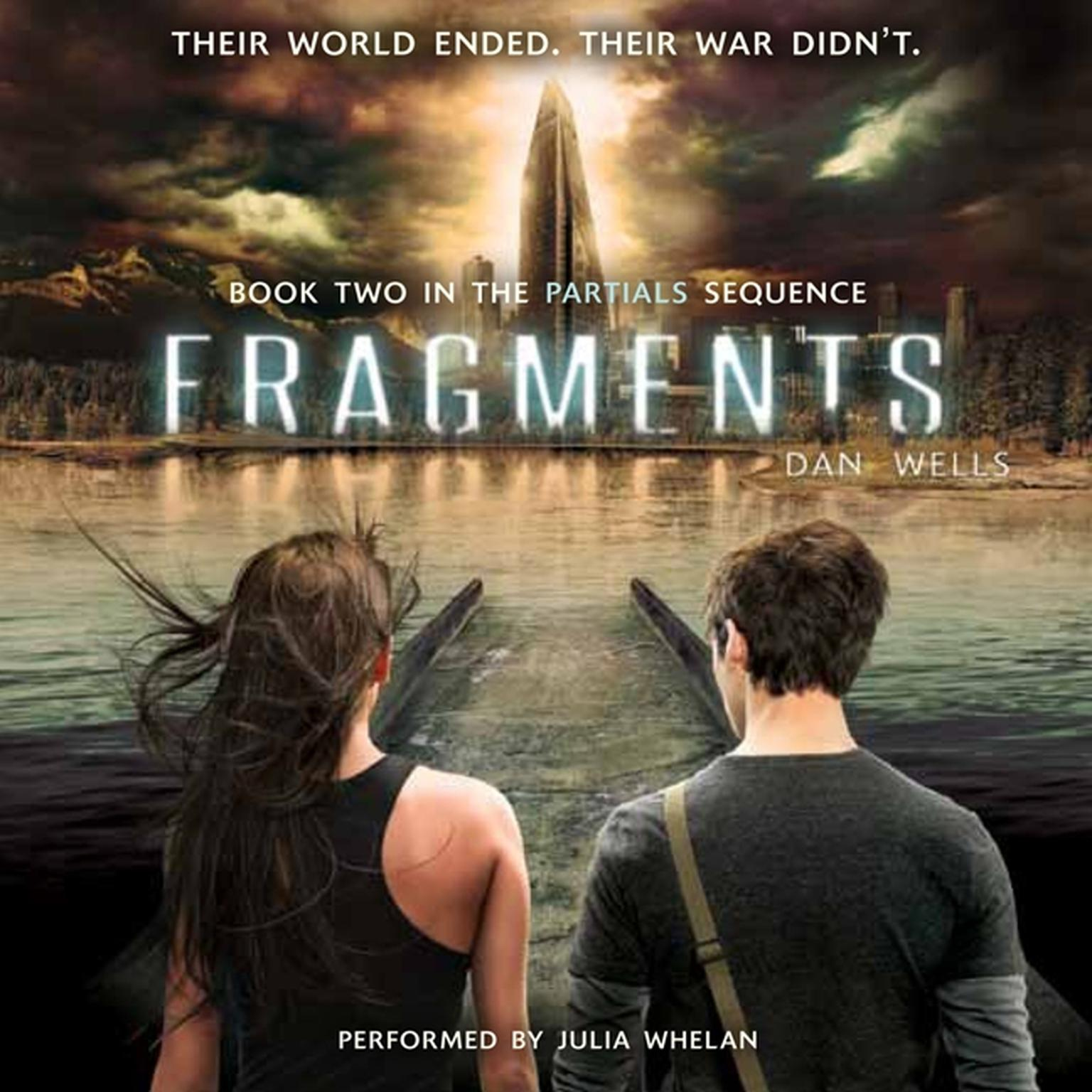 Printable Fragments Audiobook Cover Art