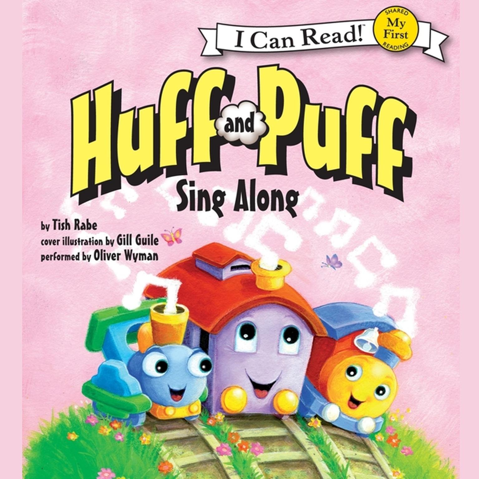 Printable Huff and Puff Sing Along: My First I Can Read Audiobook Cover Art