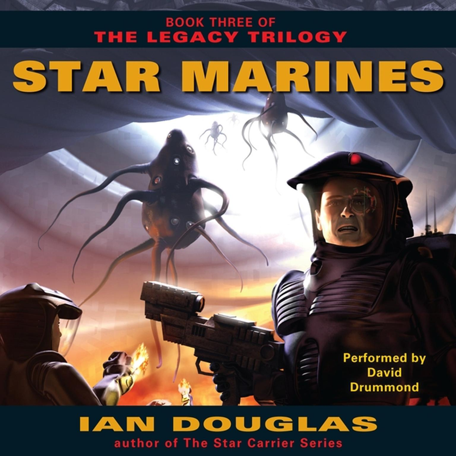 Printable Star Marines: Book Three of The Legacy Trilogy Audiobook Cover Art