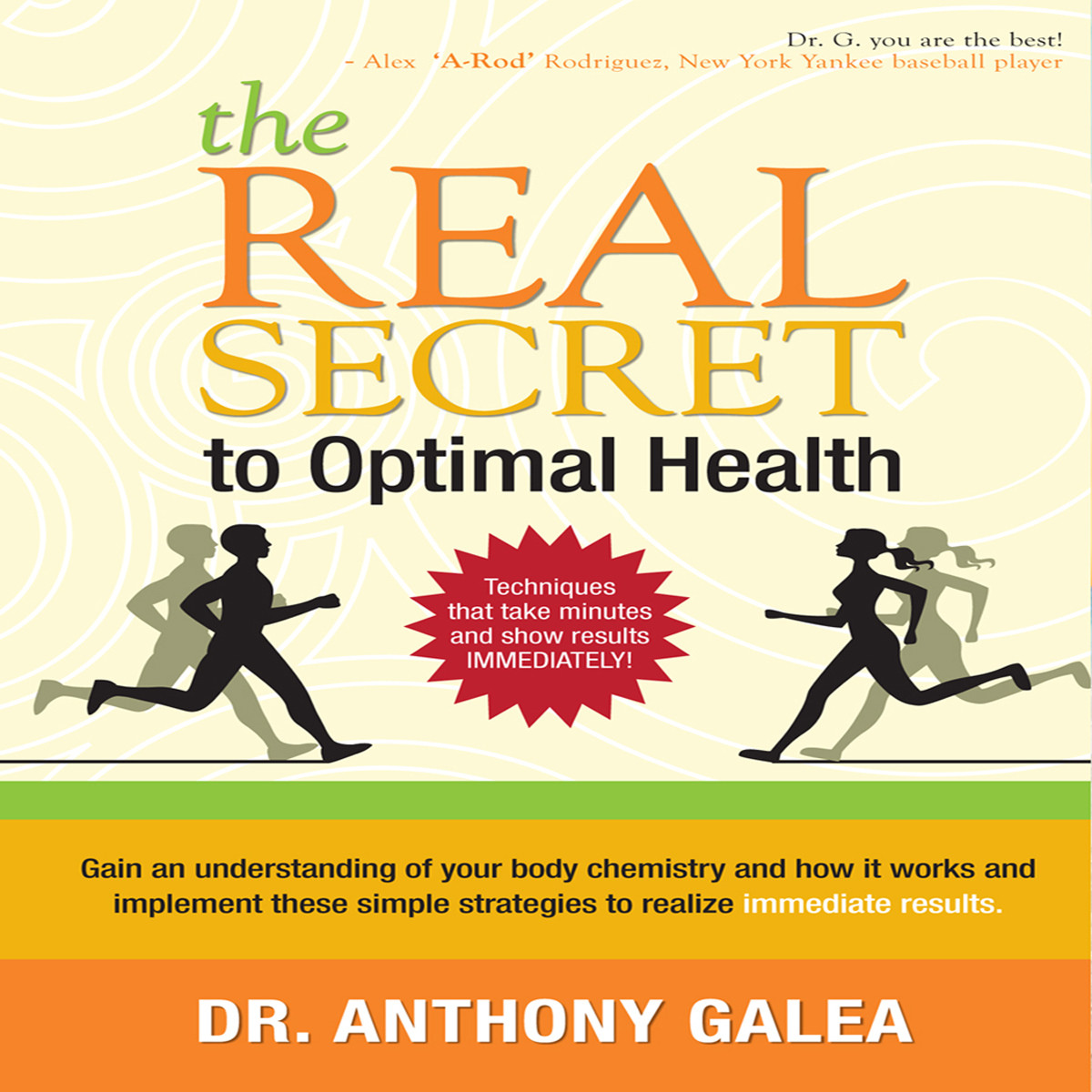 Printable The Real Secret to Optimal Health Audiobook Cover Art