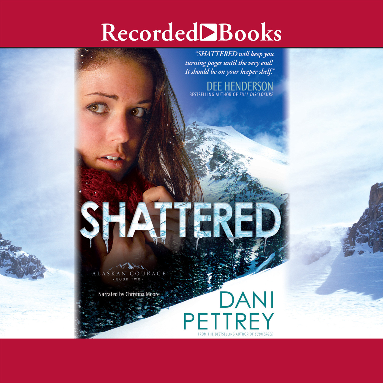 Printable Shattered Audiobook Cover Art