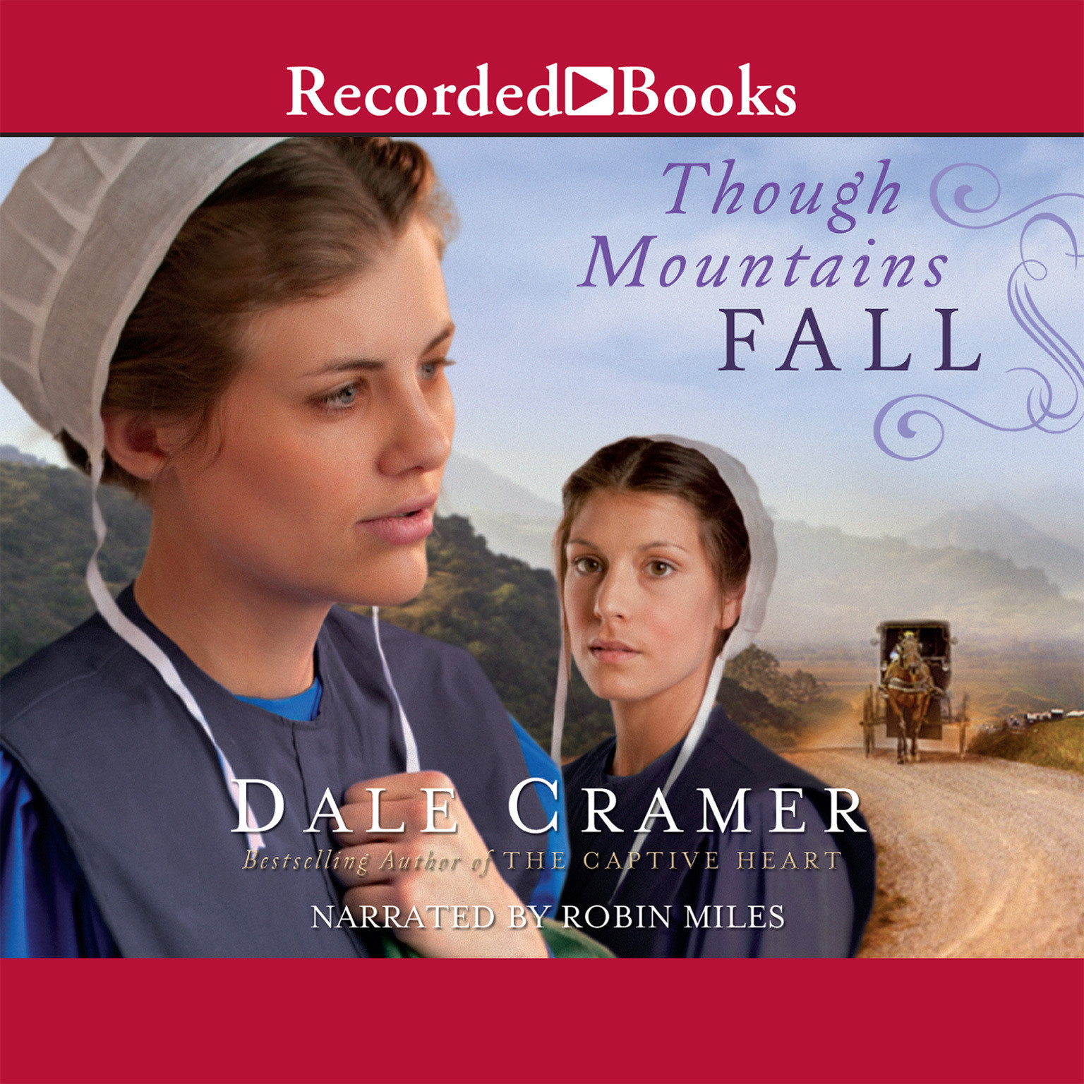 Printable Though Mountains Fall Audiobook Cover Art