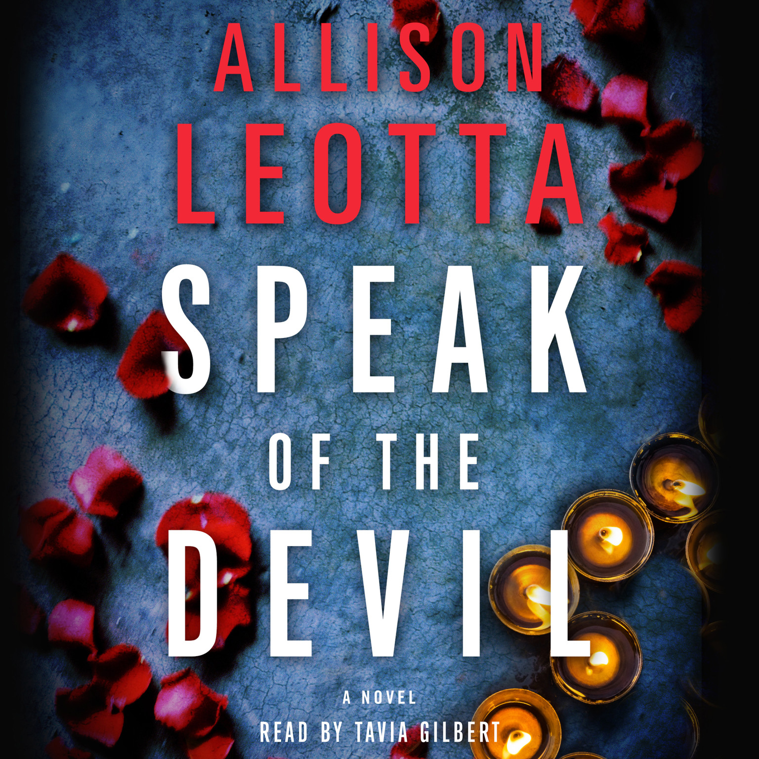 Printable Speak of the Devil: A Novel Audiobook Cover Art