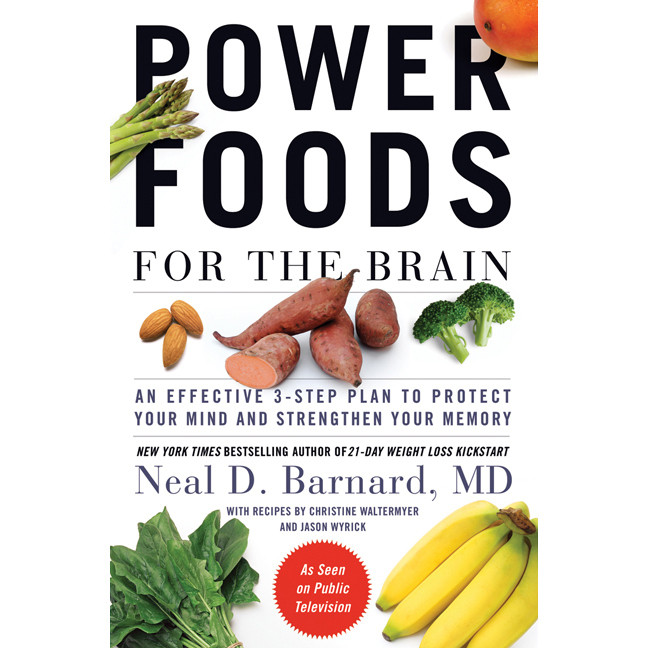 Printable Power Foods for the Brain: An Effective 3-Step Plan to Protect Your Mind and Strengthen Your Memory Audiobook Cover Art