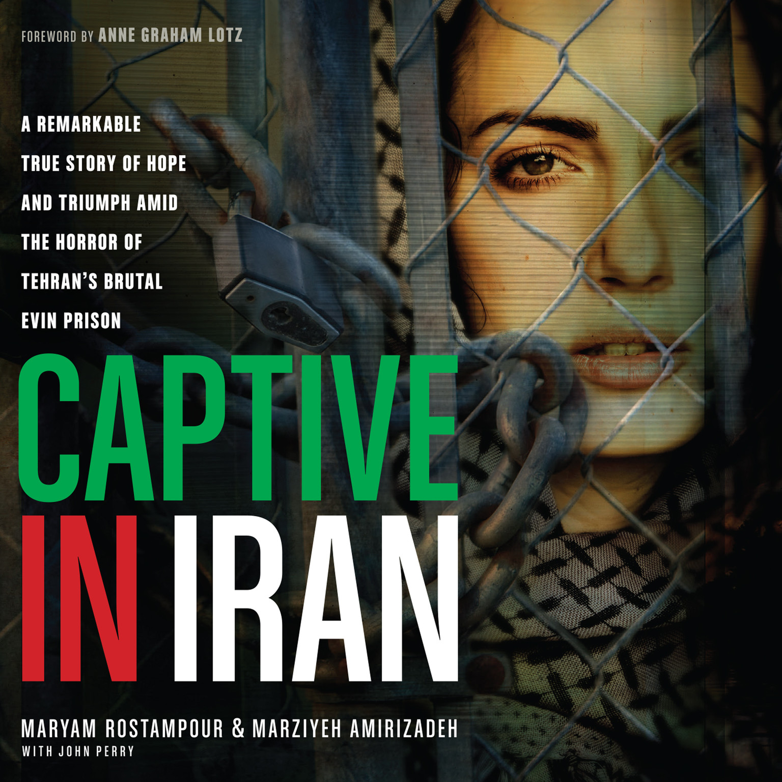 Printable Captive in Iran: A Remarkable True Story of Hope and Triumph amid the Horror of Tehran's Brutal Evin Prison Audiobook Cover Art