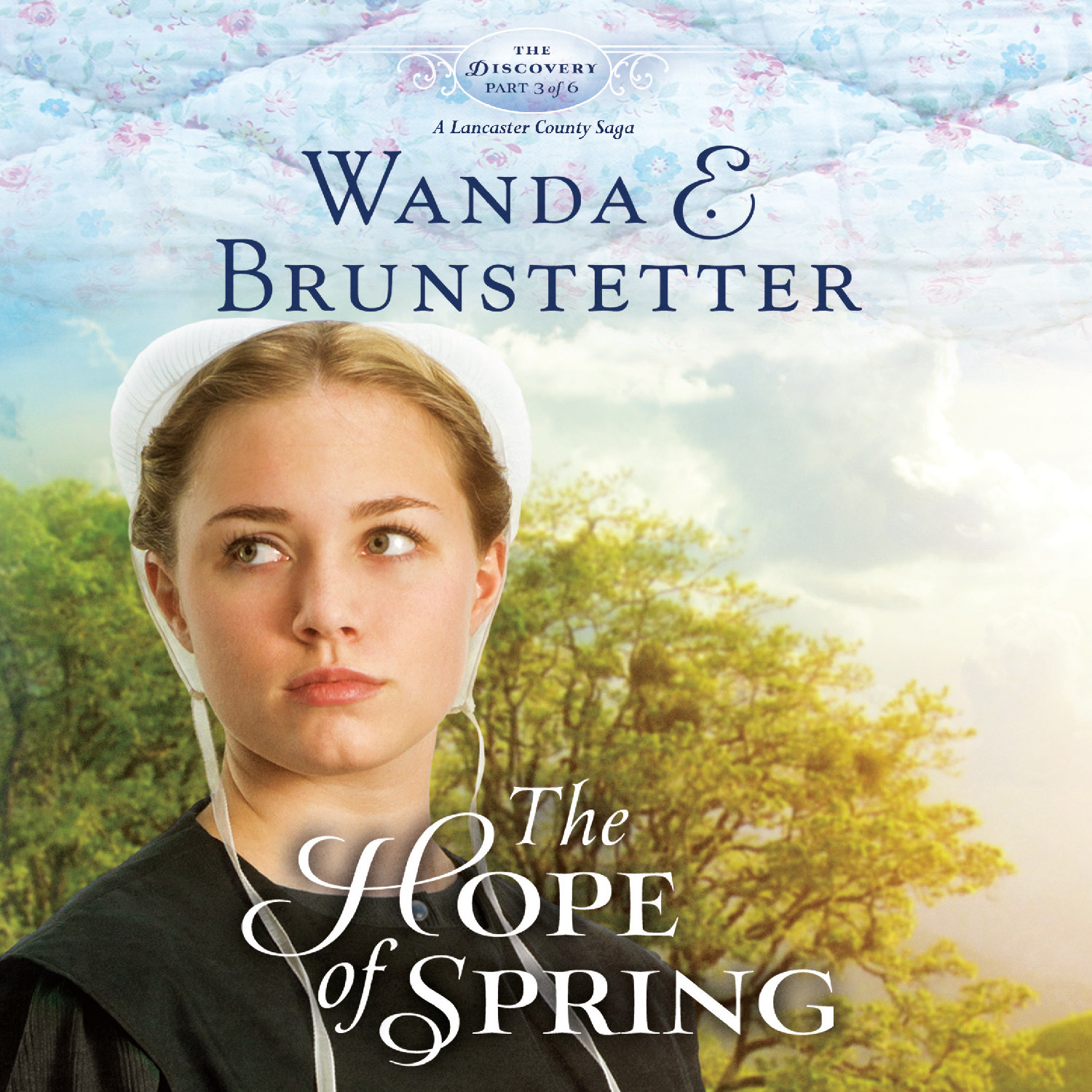 Printable The Hope of Spring Audiobook Cover Art