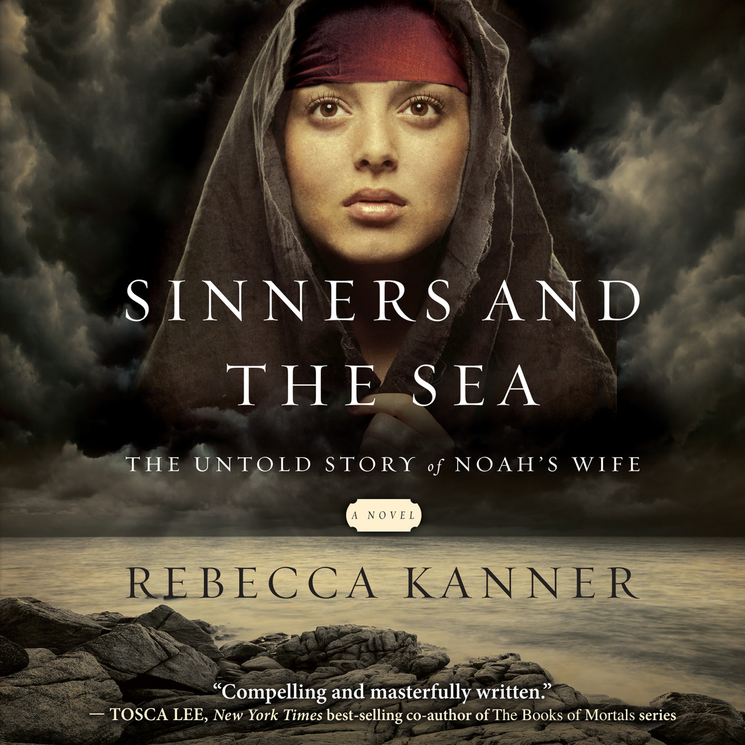 Printable Sinners and the Sea: The Untold Story of Noah's Wife Audiobook Cover Art