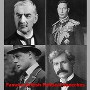 Famous British Political Speeches Audiobook, by various authors