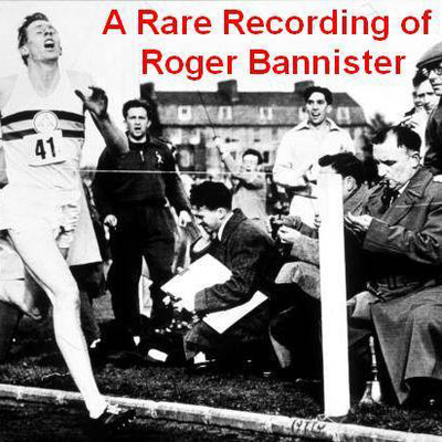 Printable A Rare Recording of Roger Bannister Audiobook Cover Art