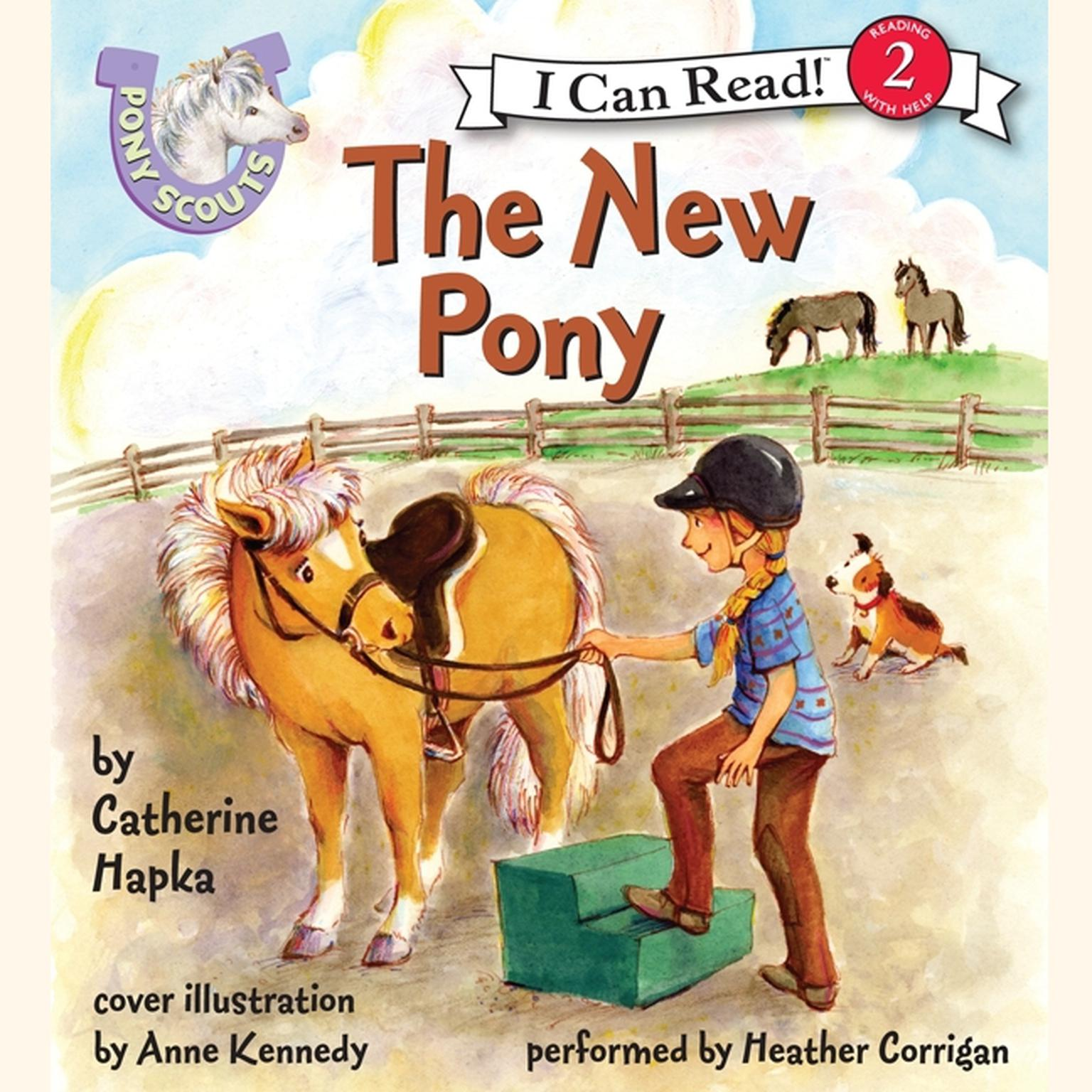 Printable Pony Scouts: The New Pony Audiobook Cover Art