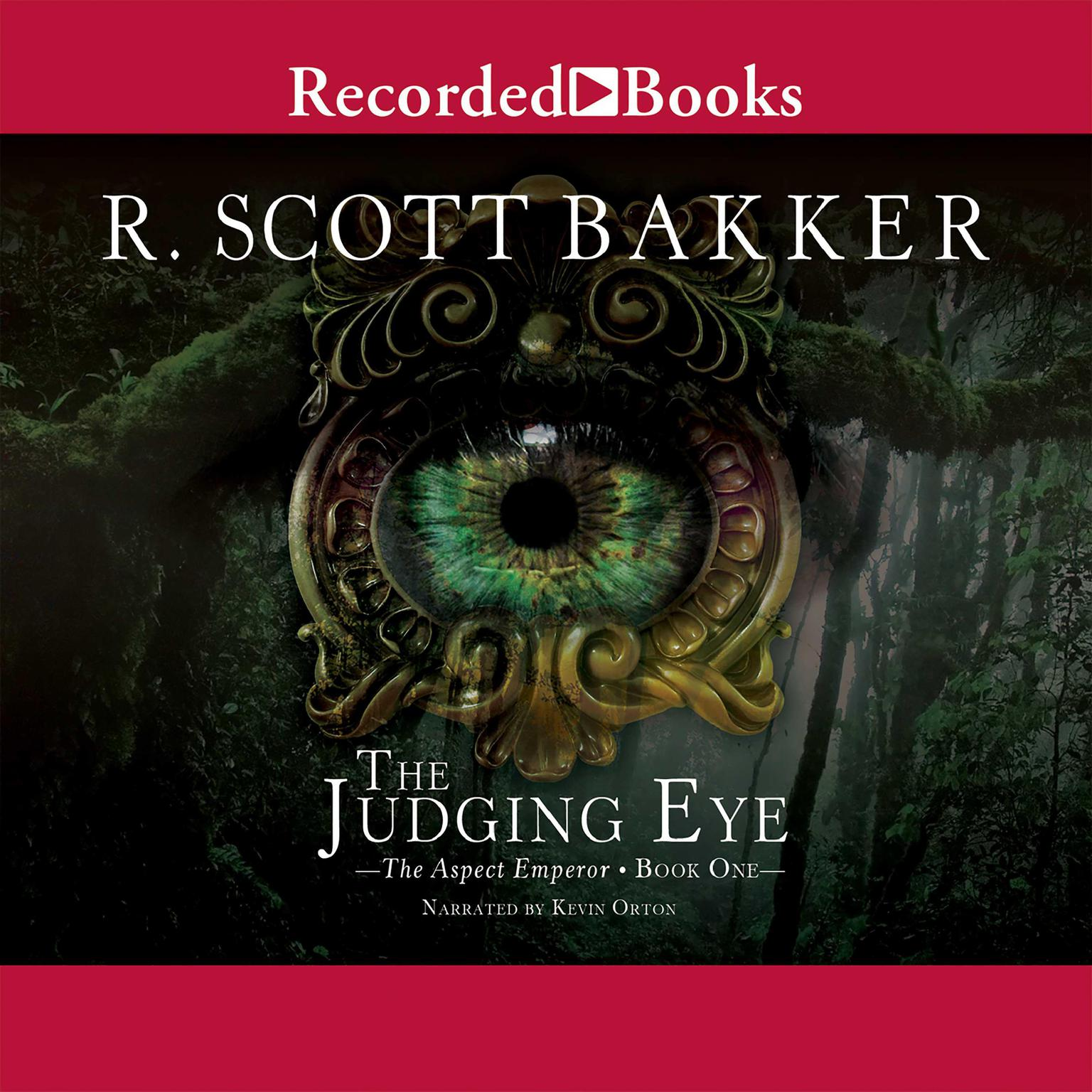 Printable The Judging Eye Audiobook Cover Art