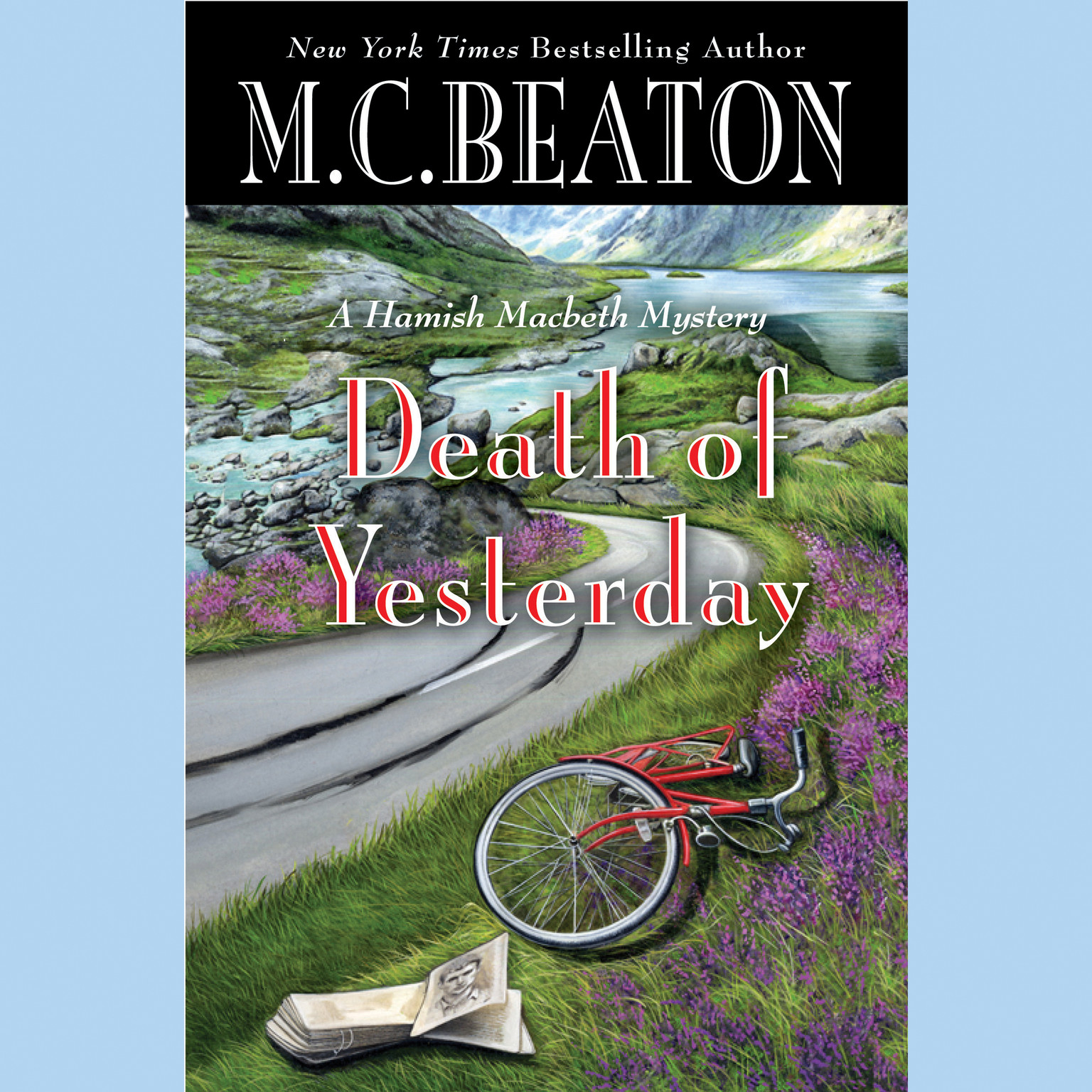 Printable Death of Yesterday Audiobook Cover Art