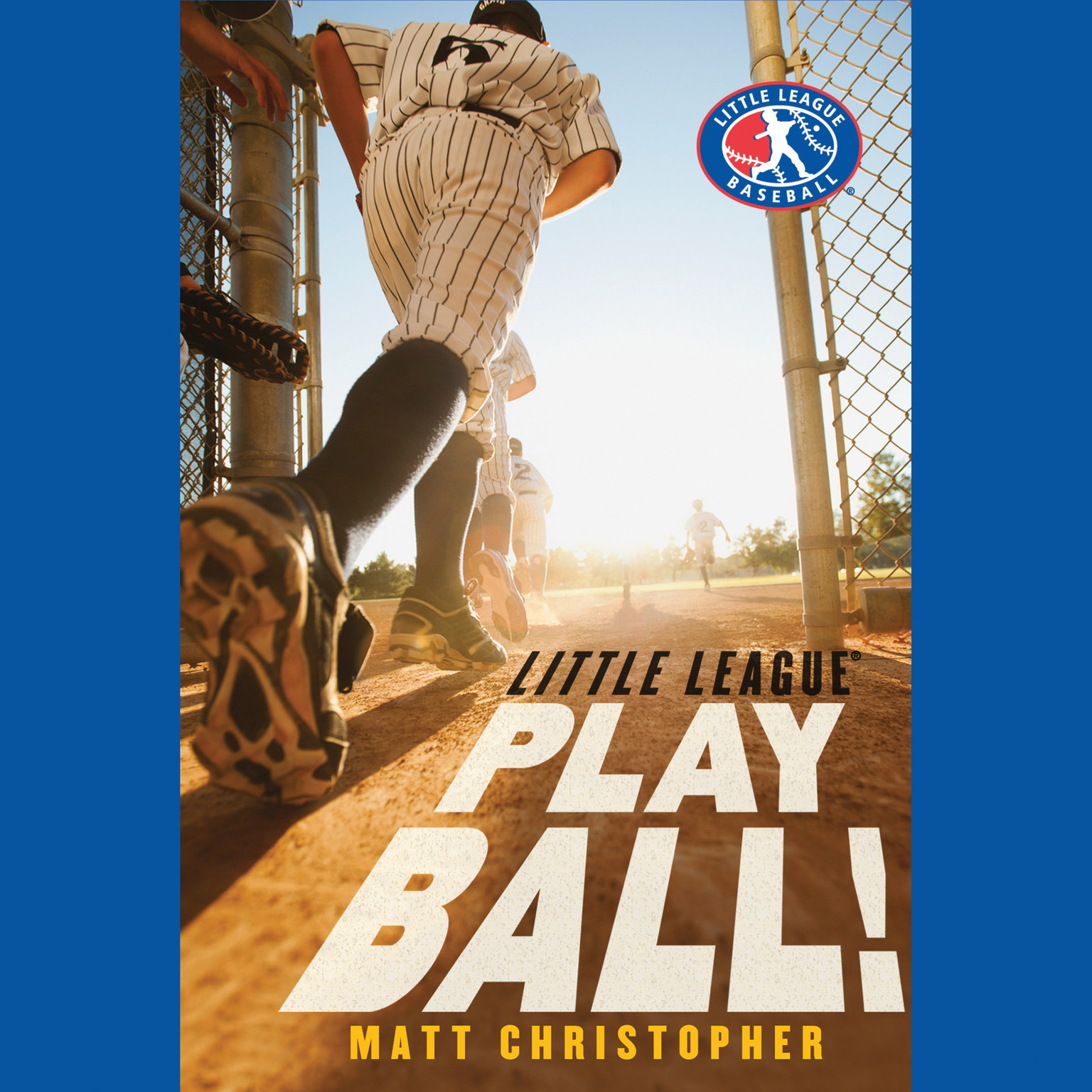 Printable Play Ball! Audiobook Cover Art