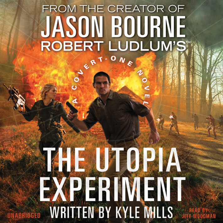 Printable Robert Ludlum's The Utopia Experiment Audiobook Cover Art