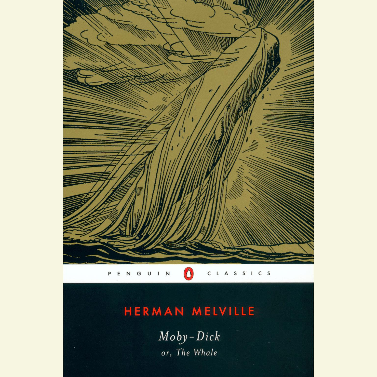 Printable Moby-Dick Audiobook Cover Art