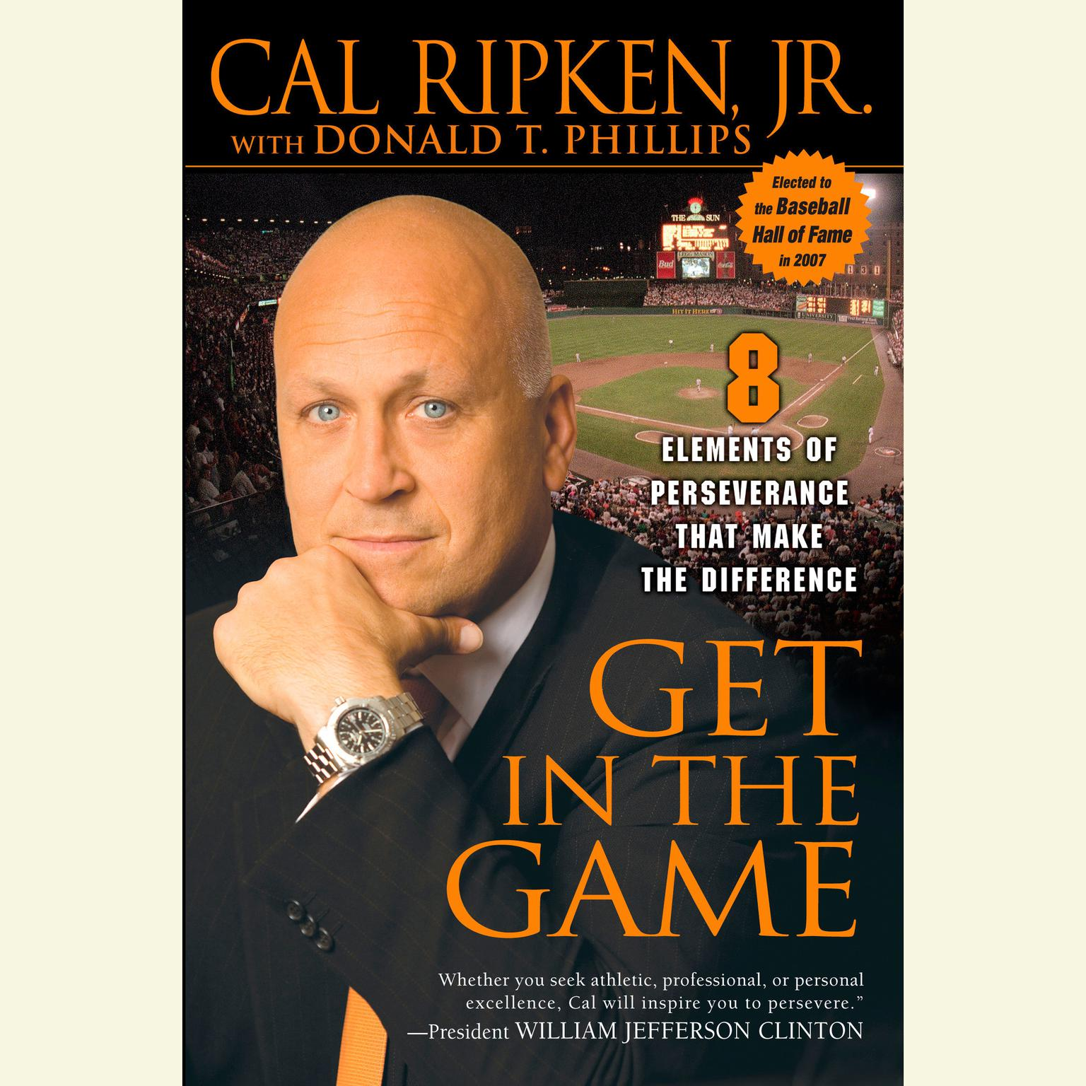 Printable Get in the Game: 8 Principles of Perseverance That Make the Difference Audiobook Cover Art