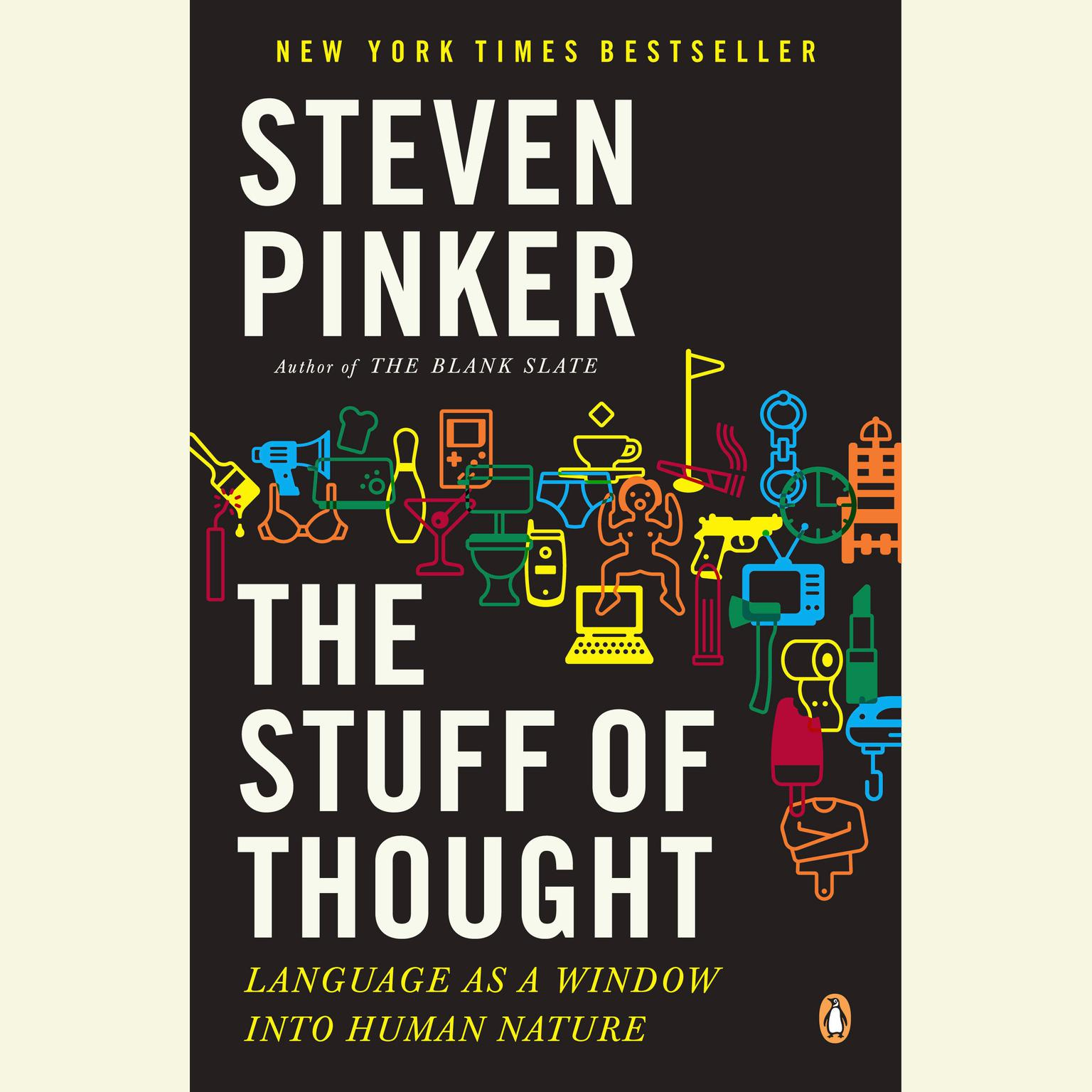 Printable The Stuff of Thought: Language as a Window into Human Nature Audiobook Cover Art