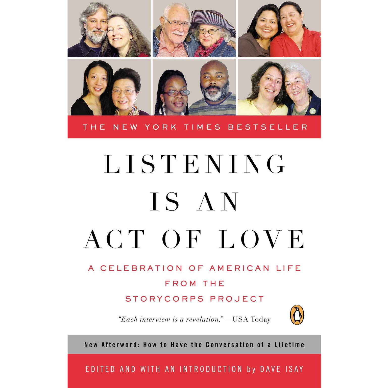 Printable Listening Is an Act of Love: A Celebration of American Life from the StoryCorps Project Audiobook Cover Art