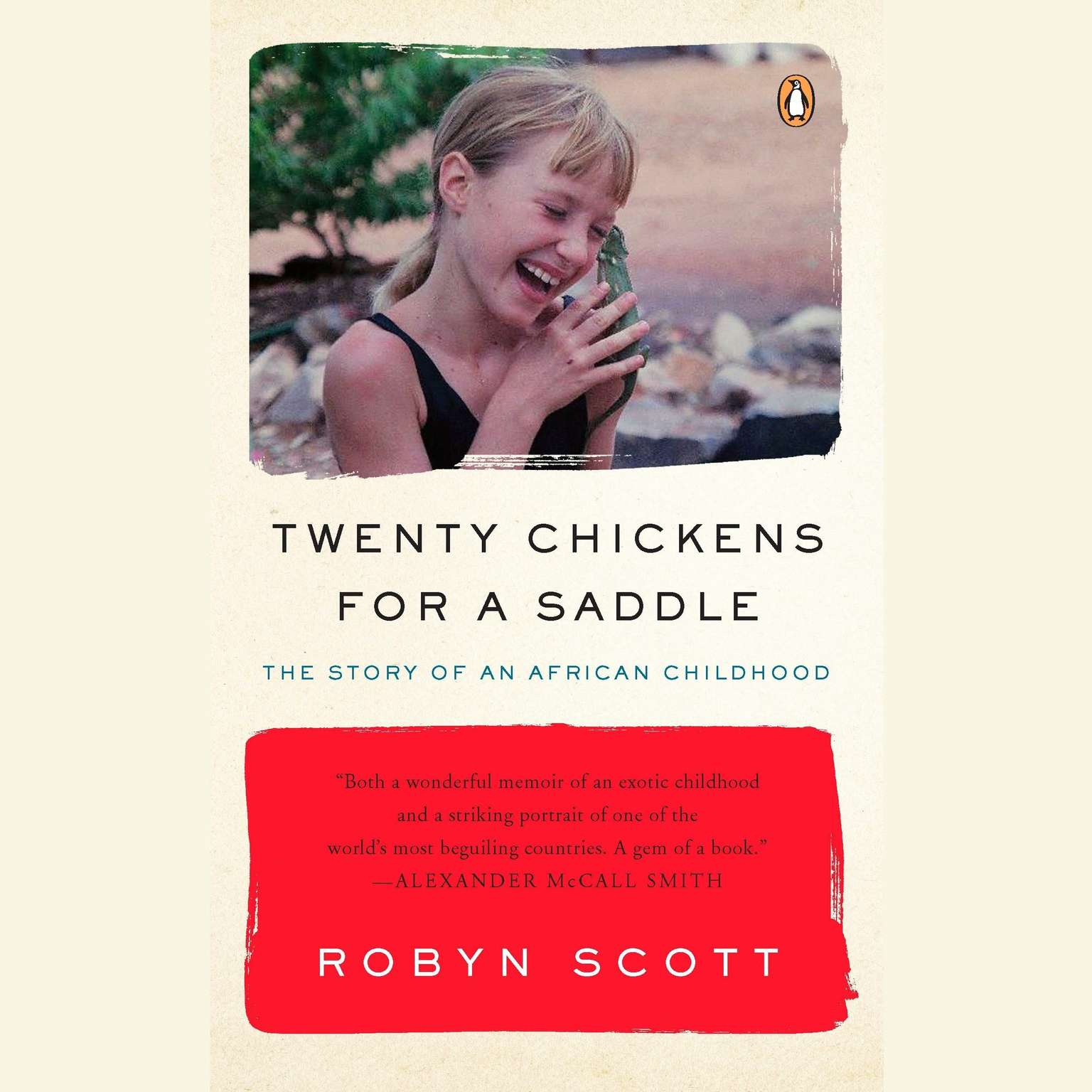Printable Twenty Chickens for a Saddle: The Story of an African Childhood Audiobook Cover Art