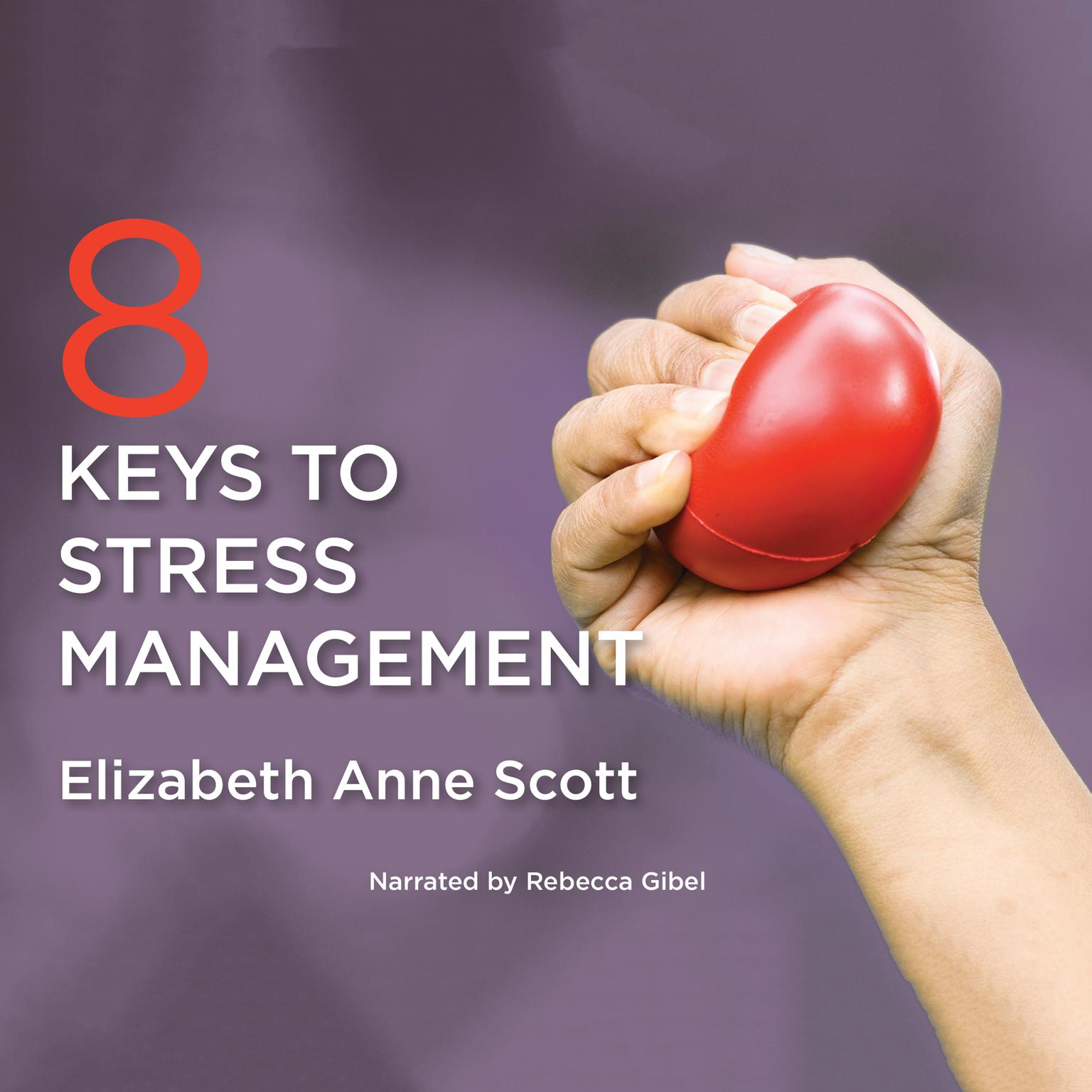 Printable 8 Keys to Stress Management Audiobook Cover Art