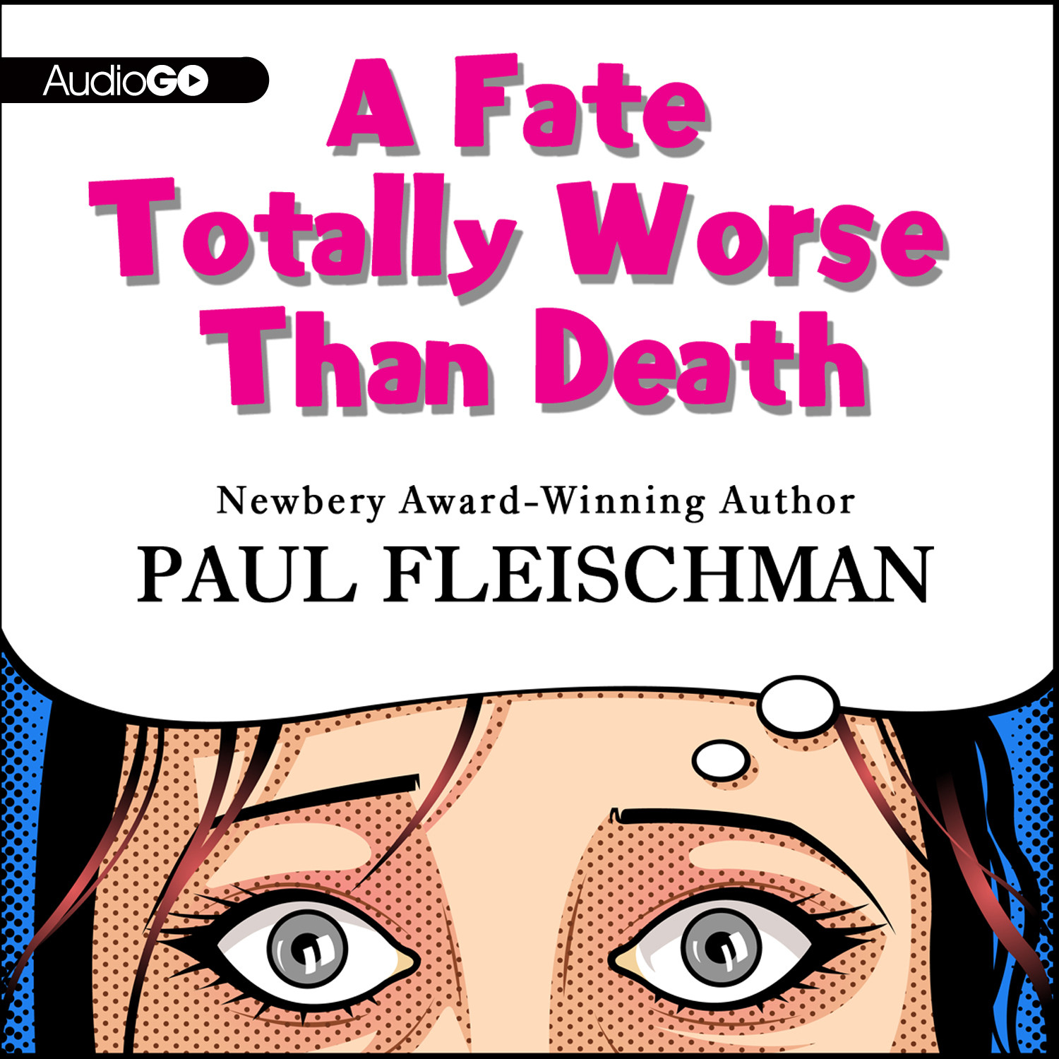Printable A Fate Totally Worse Than Death Audiobook Cover Art